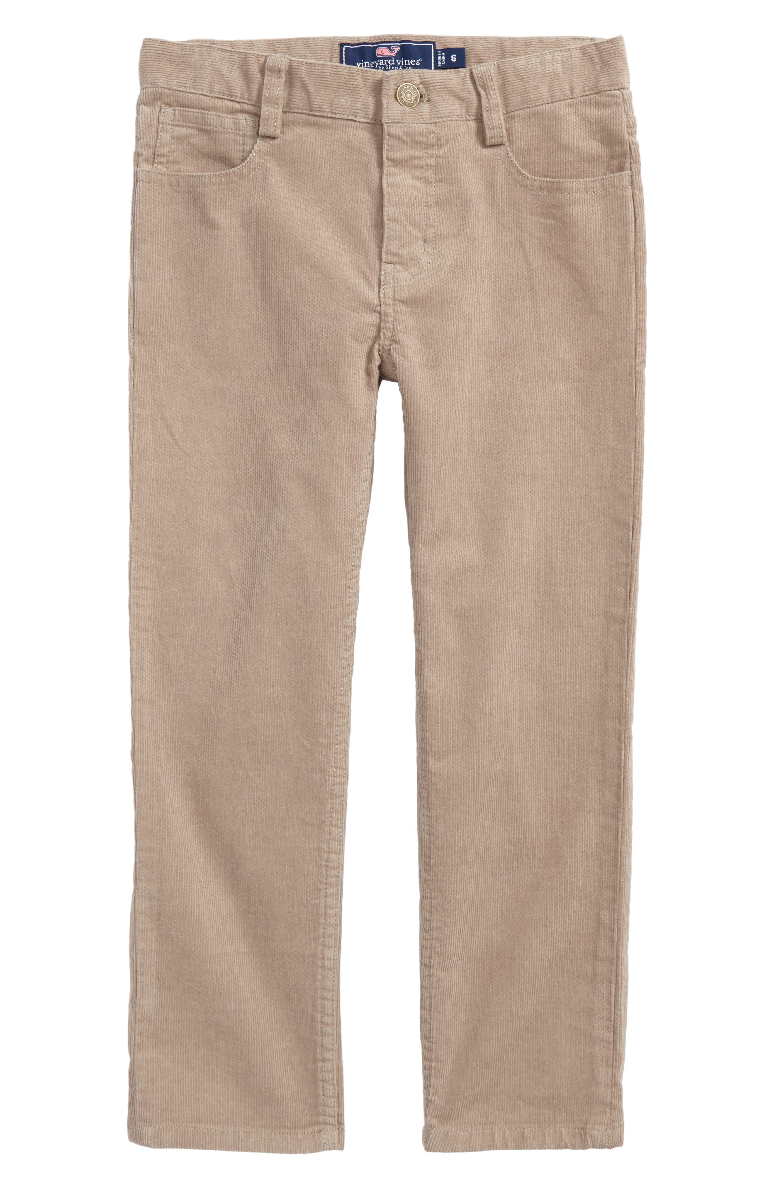 Corduroy Pants,                             Main thumbnail 1, color,                             Khaki