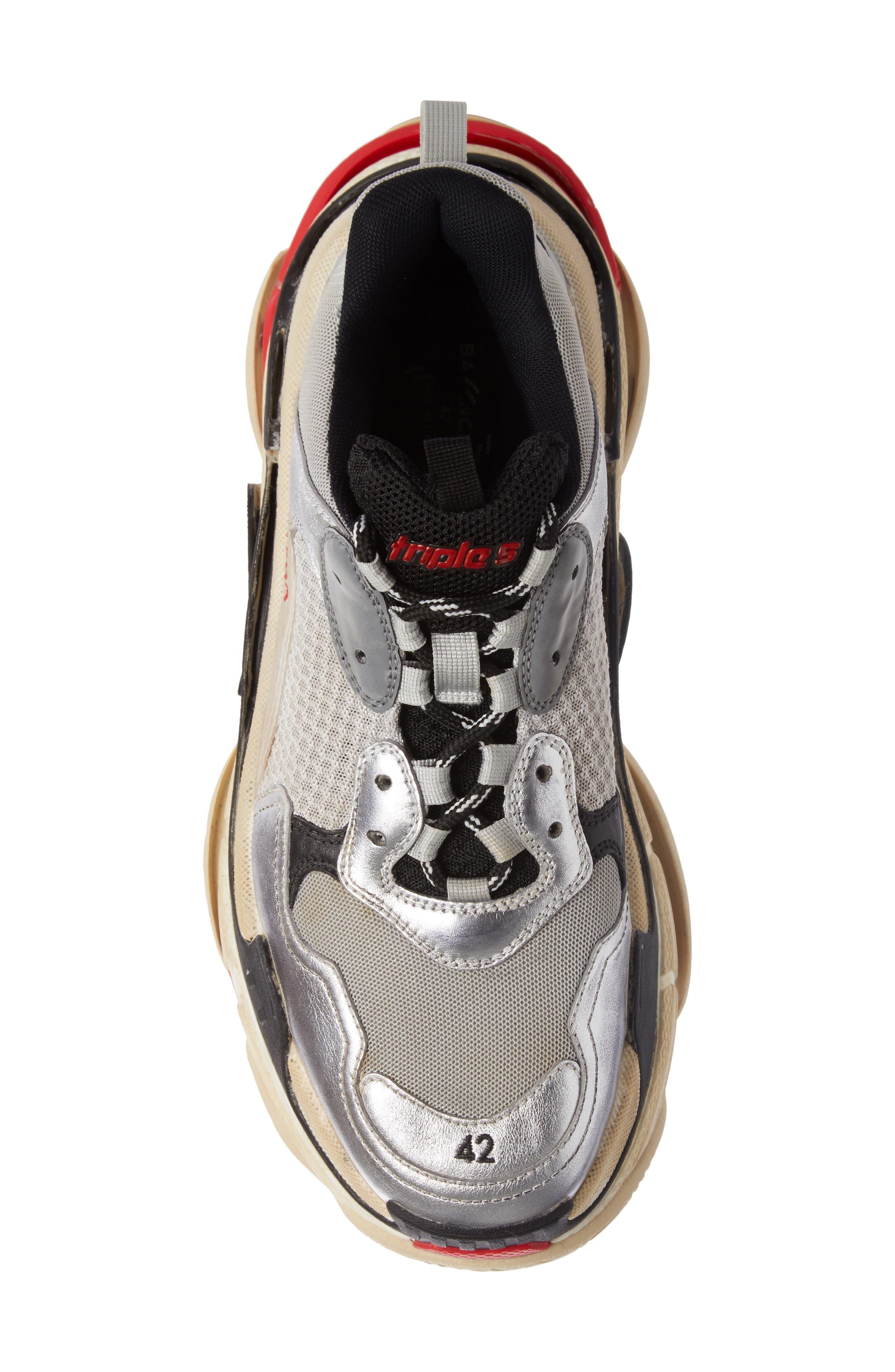 Alternate Image 4  - Balenciaga Triple S Retro Sneaker (Men)
