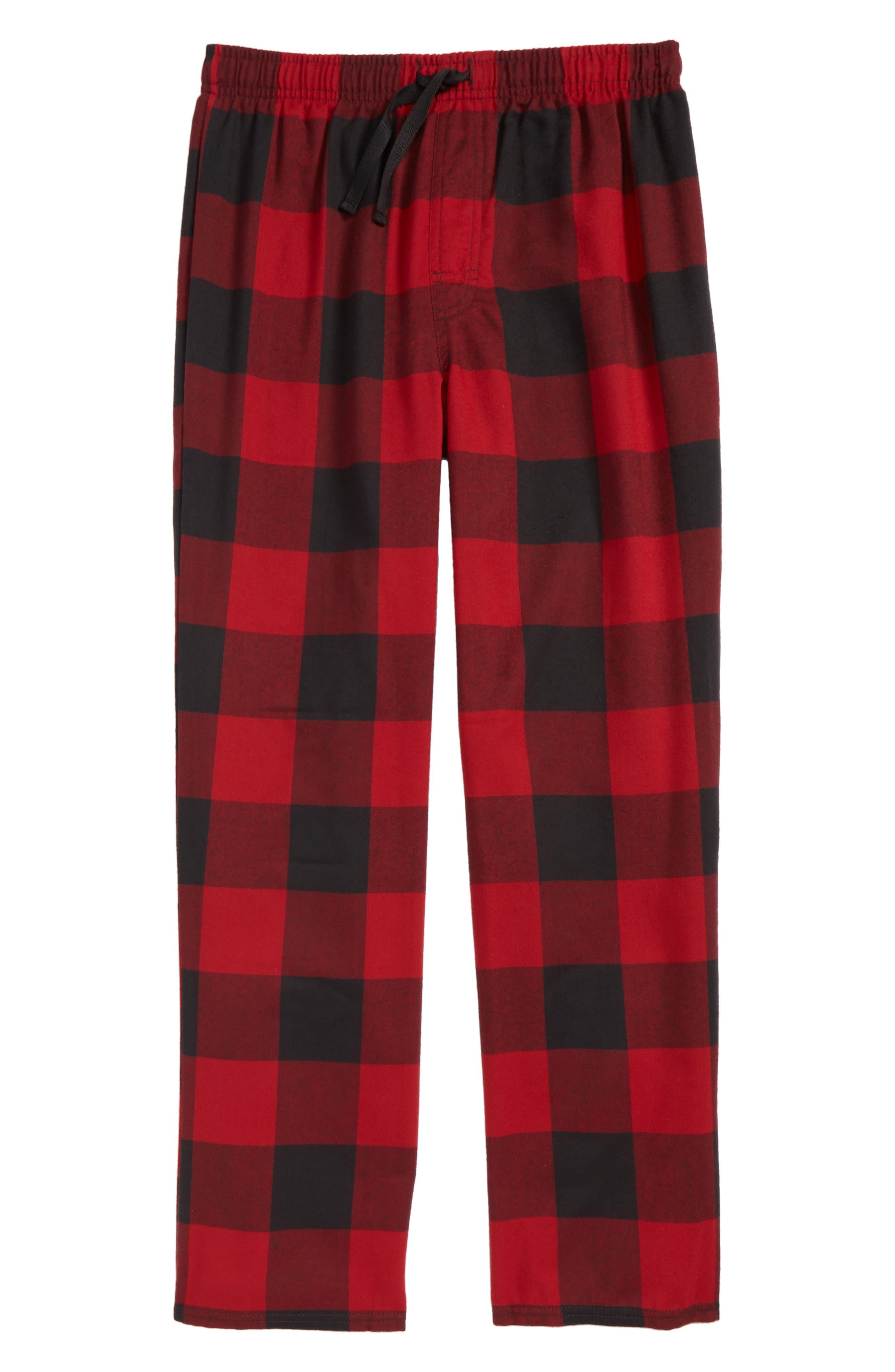 Tucker + Tate Plaid Flannel Pants (Big Boys)