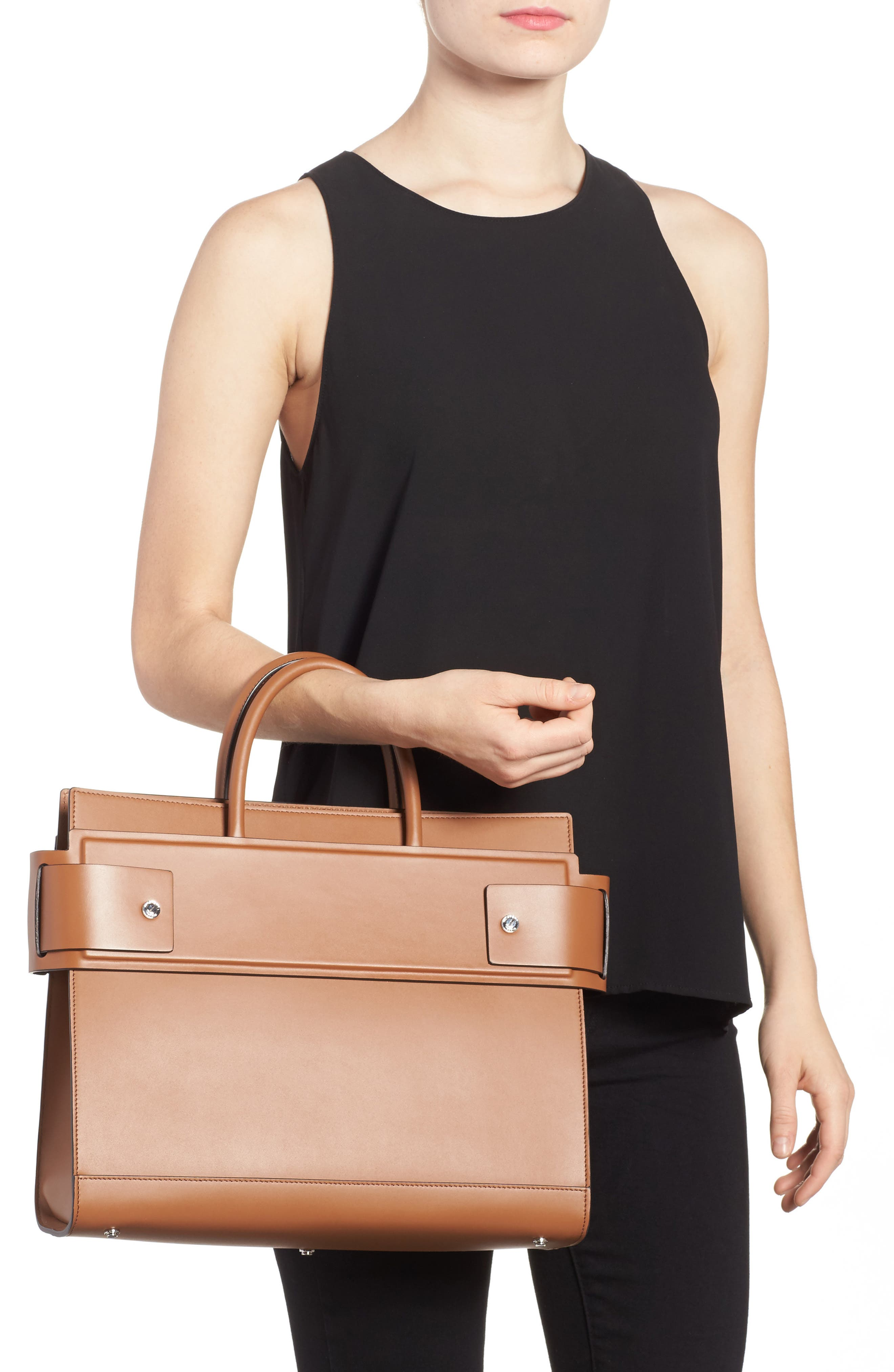 Alternate Image 2  - Givenchy Horizon Calfskin Leather Tote