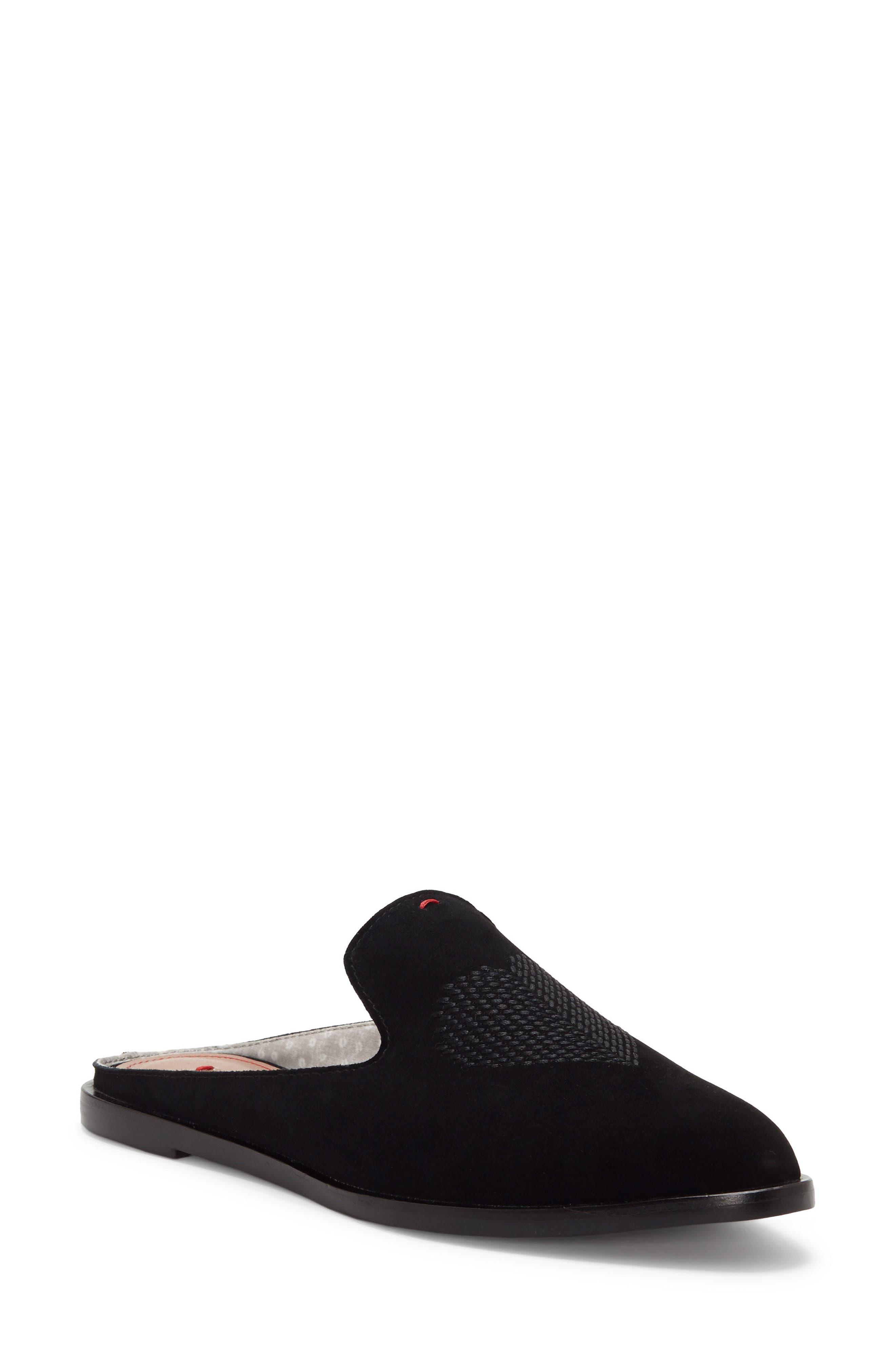 Klyde Mule,                         Main,                         color, Black Suede