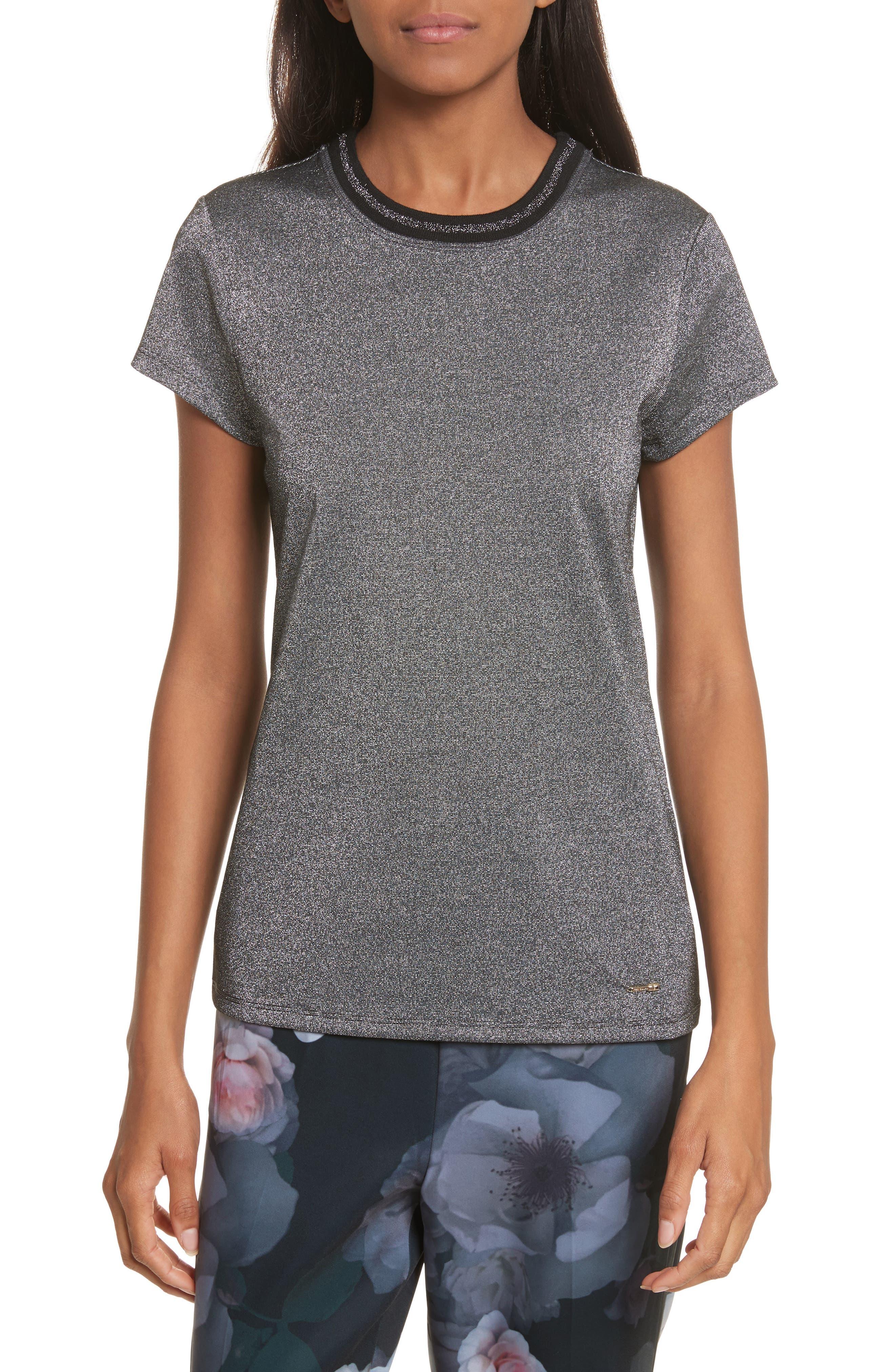 Alternate Image 1 Selected - Ted Baker London Glitter Shirt
