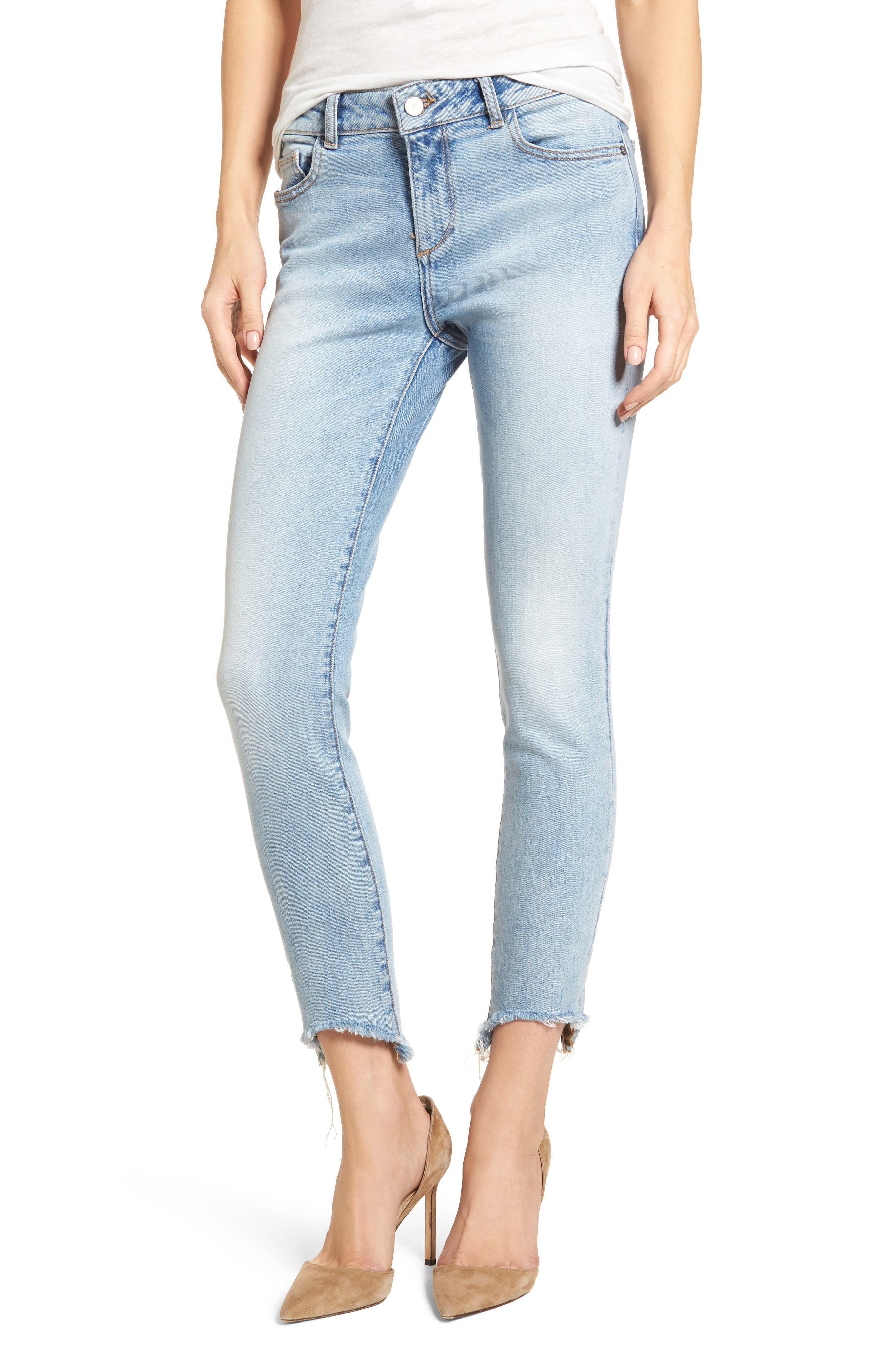 Margaux Instasculpt Ankle Skinny Jeans,                             Main thumbnail 1, color,                             Promenade