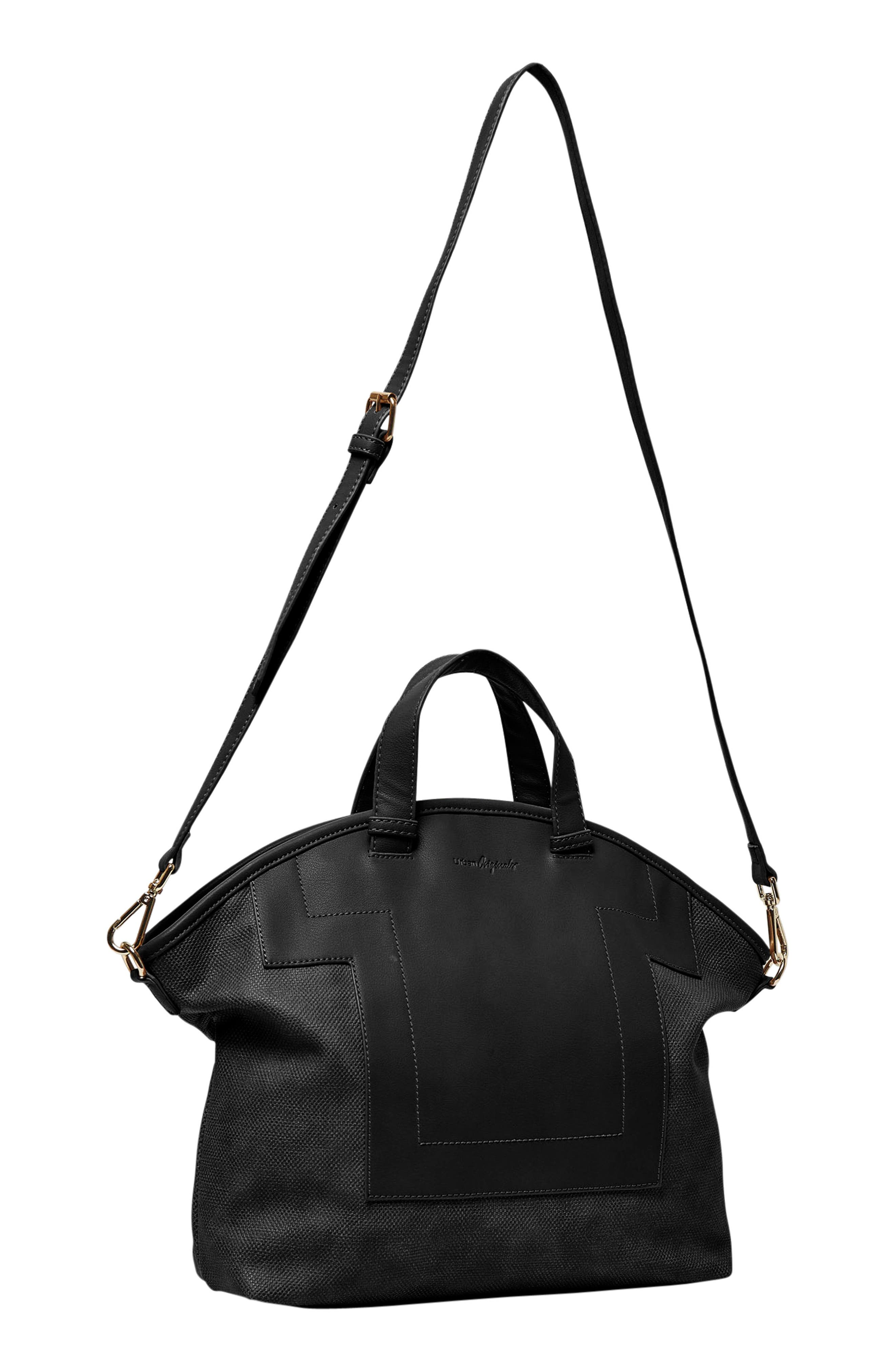 Alternate Image 2  - Urban Originals Break Away Vegan Leather Tote