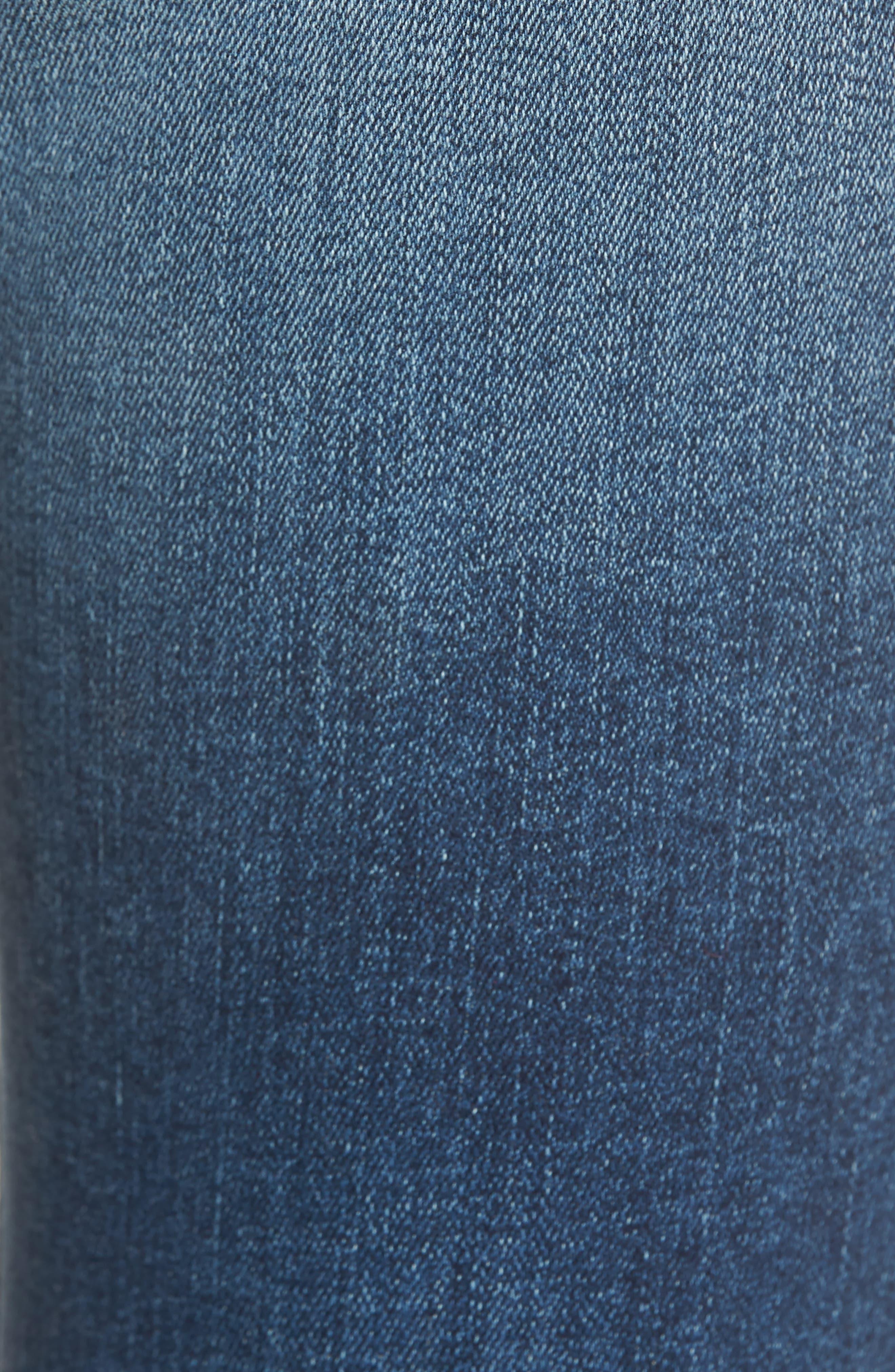 Decon Distressed Skinny Jeans,                             Alternate thumbnail 5, color,                             Vintage
