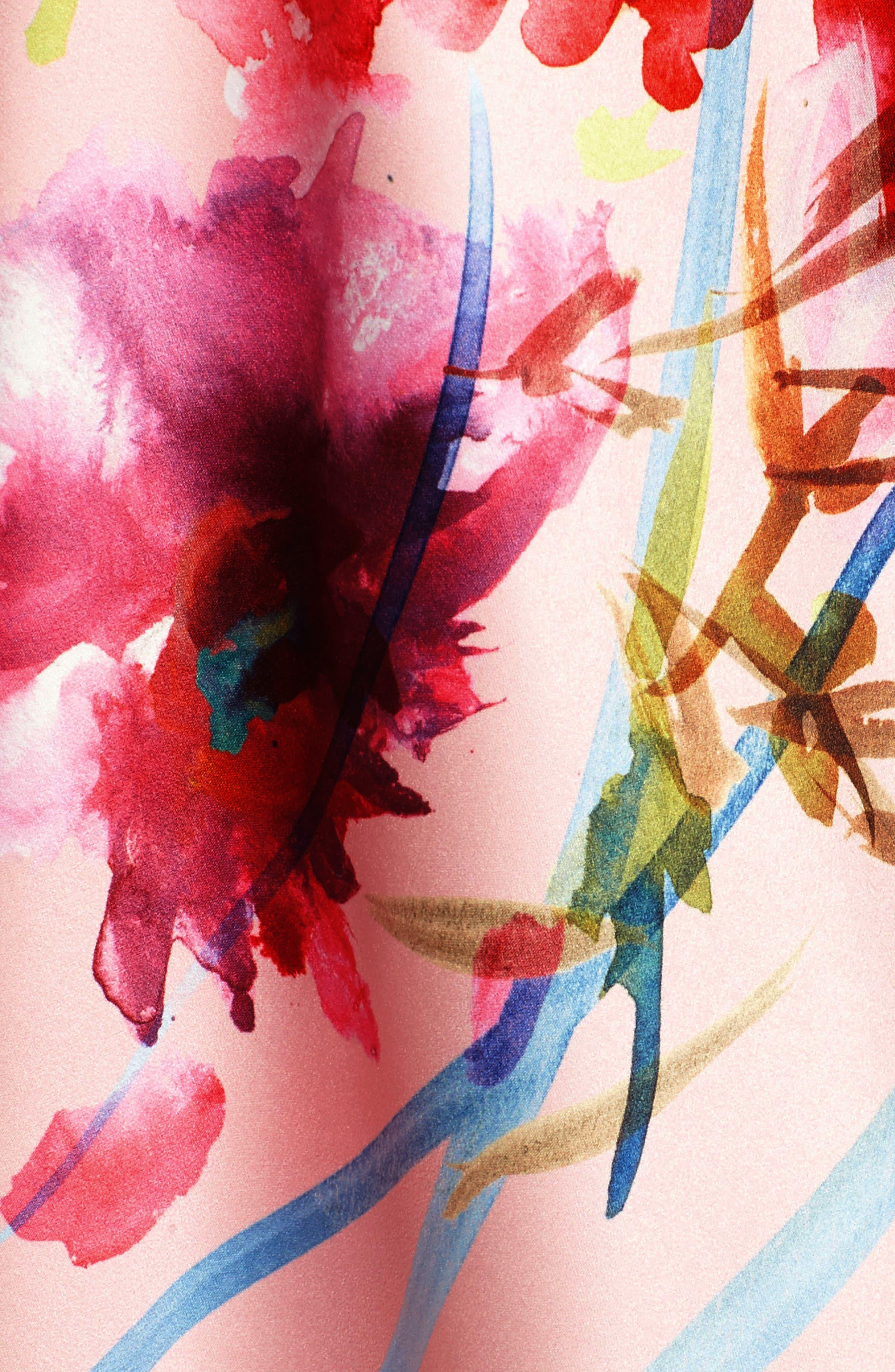 Alternate Image 5  - Nordstrom Floral Kimono