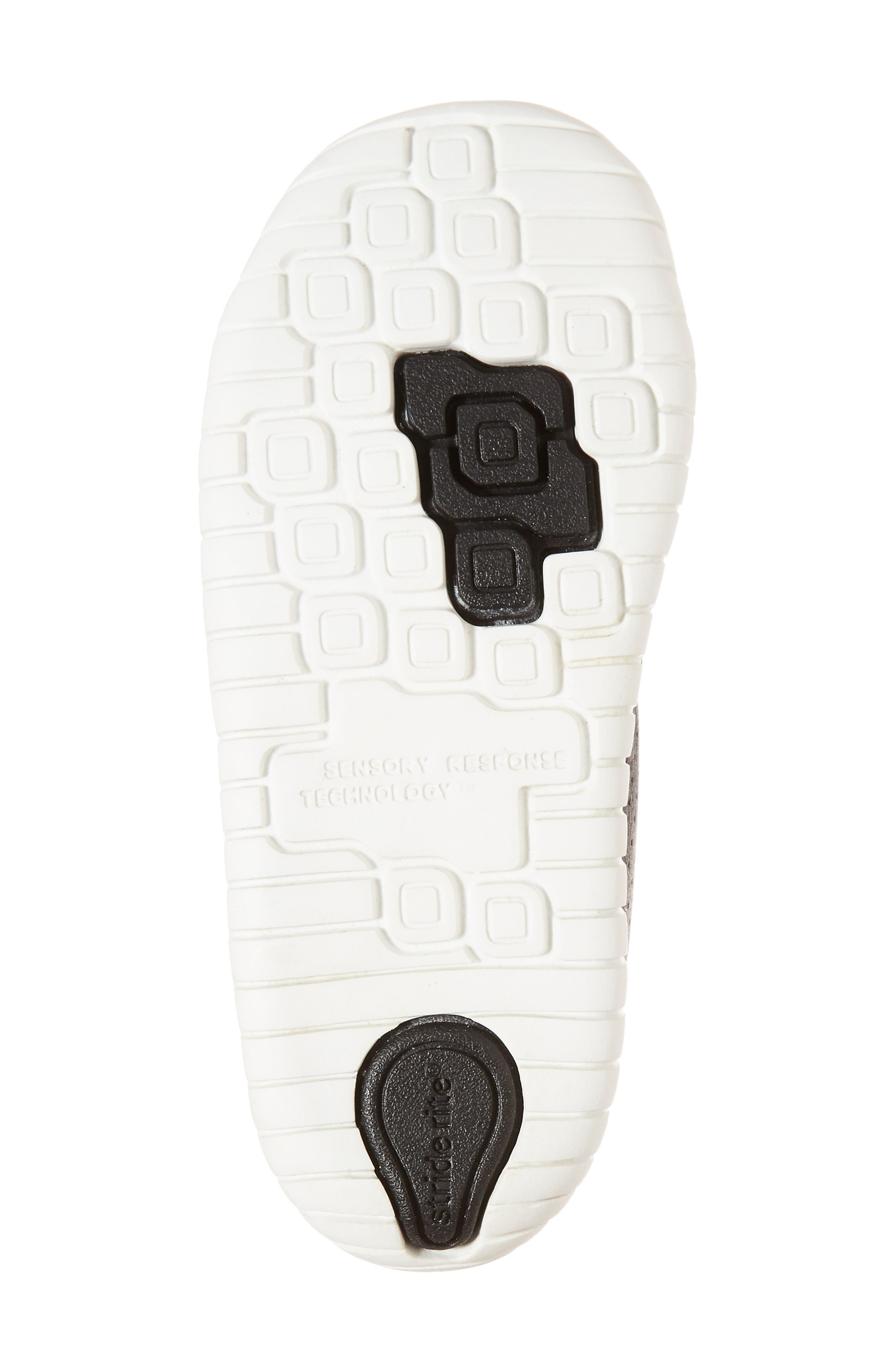 SRT Riley Sneaker,                             Alternate thumbnail 6, color,                             Black Leather