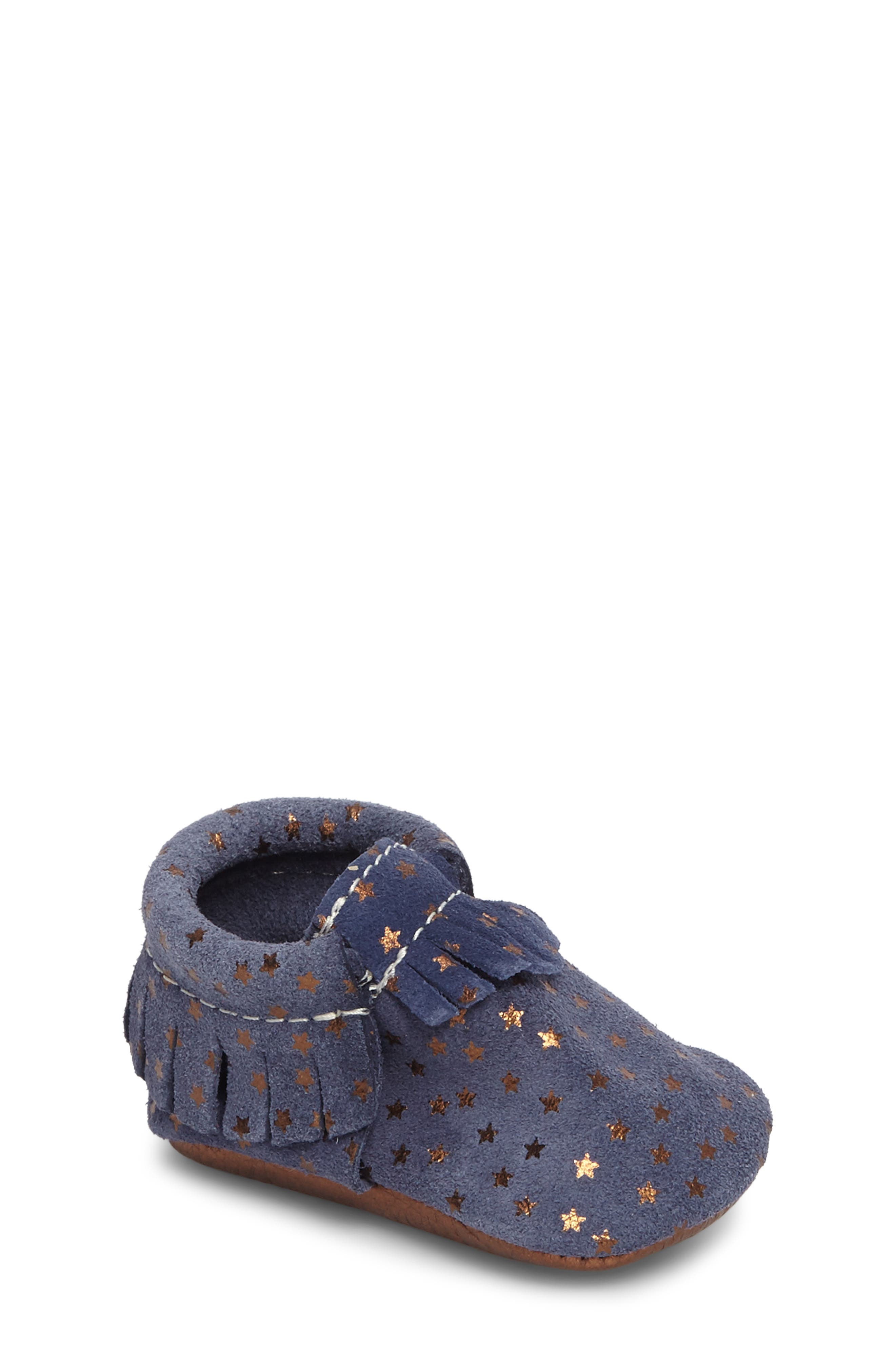 Main Image - Freshly Picked Starry Sky Moccasin (Baby)