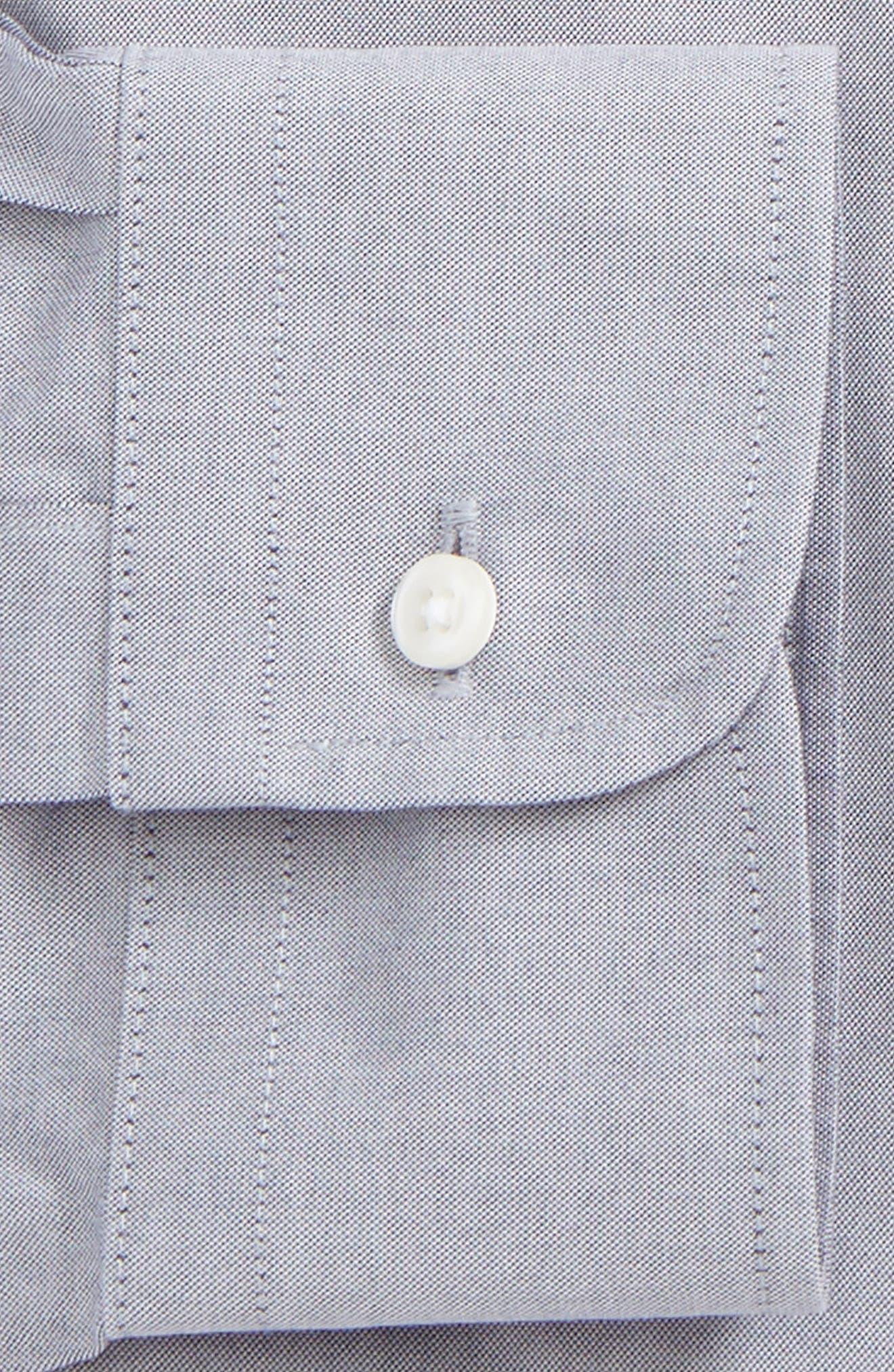 Alternate Image 2  - Nordstrom Men's Shop Smartcare™ Classic Fit Pinpoint Dress Shirt (Online Only)