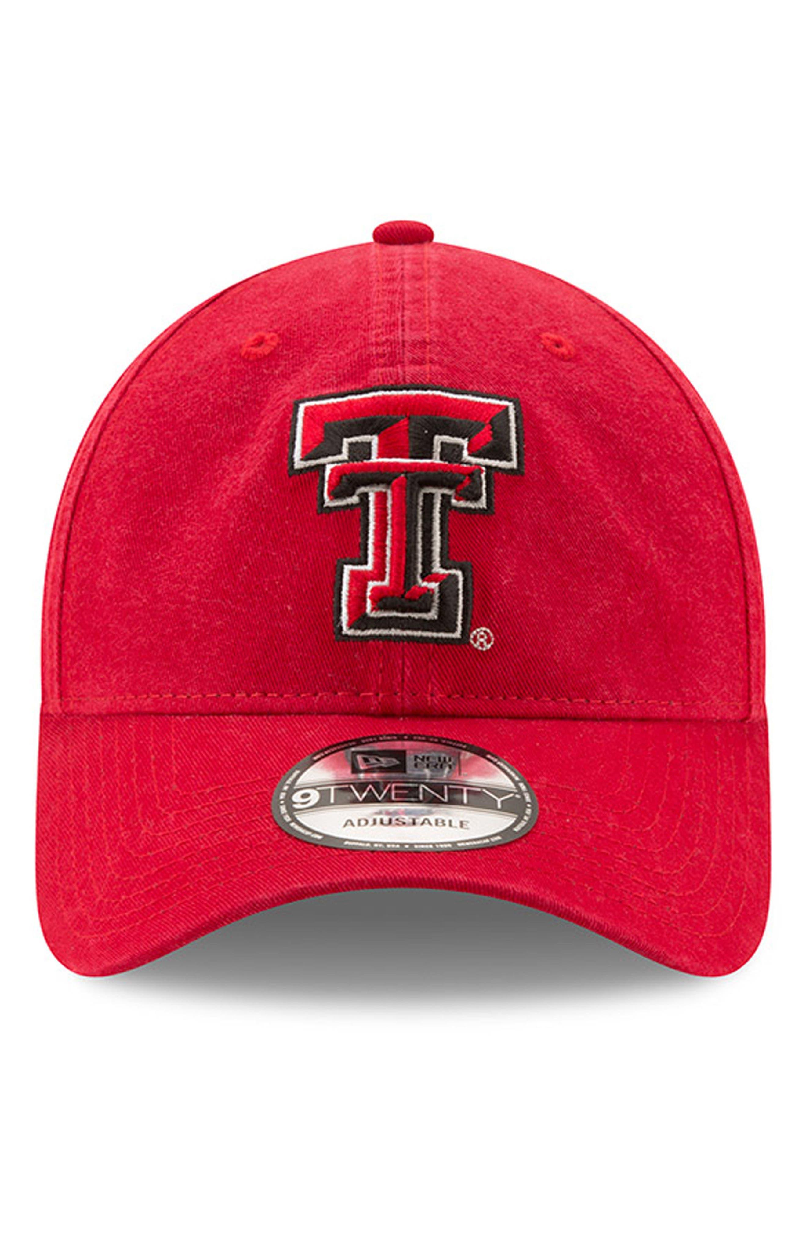 Main Image - New Era Collegiate Core Classic - Texas Tech Red Raiders Baseball Cap