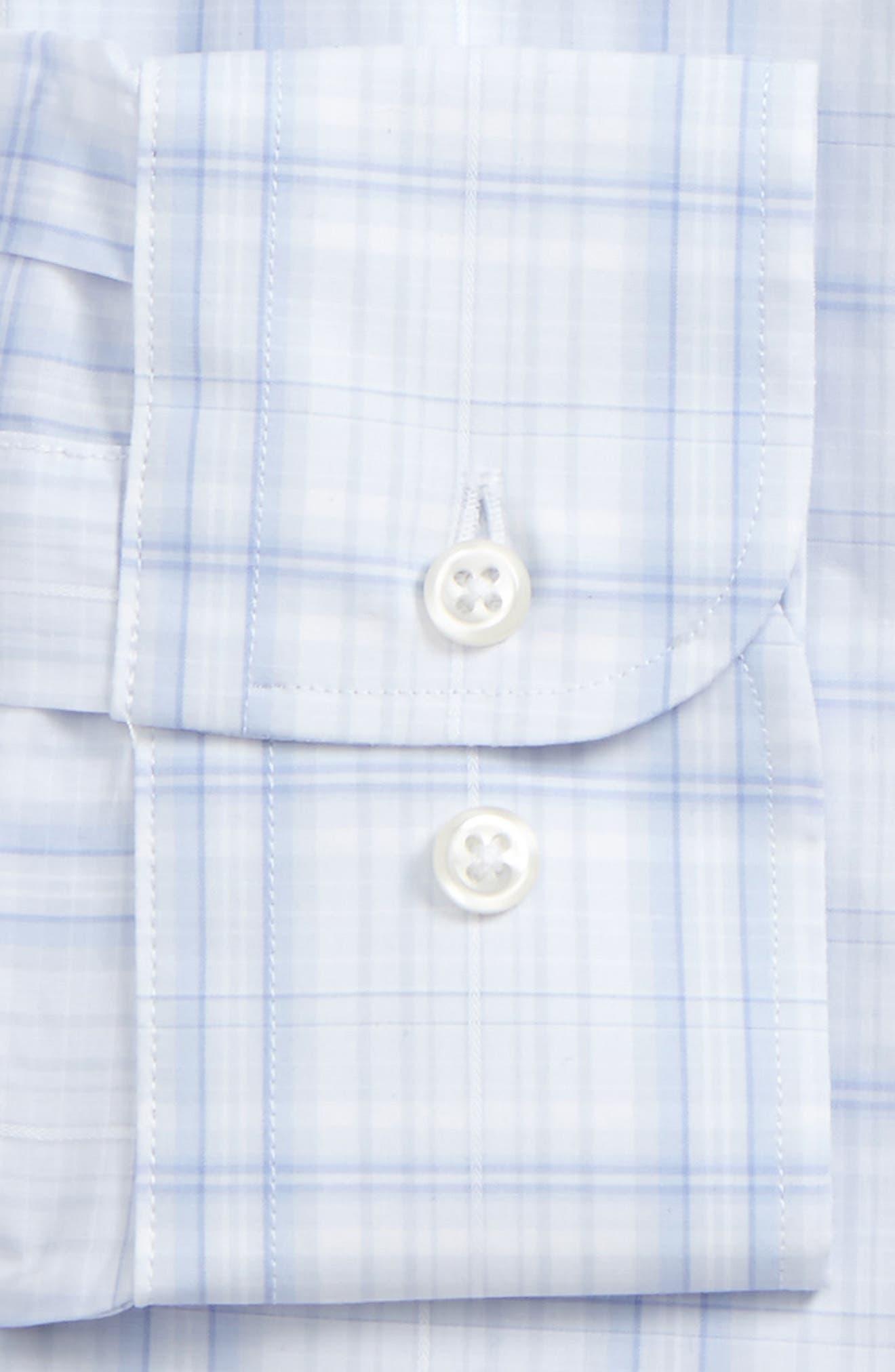 Alternate Image 5  - Nordstrom Men's Shop Trim Fit Check Dress Shirt