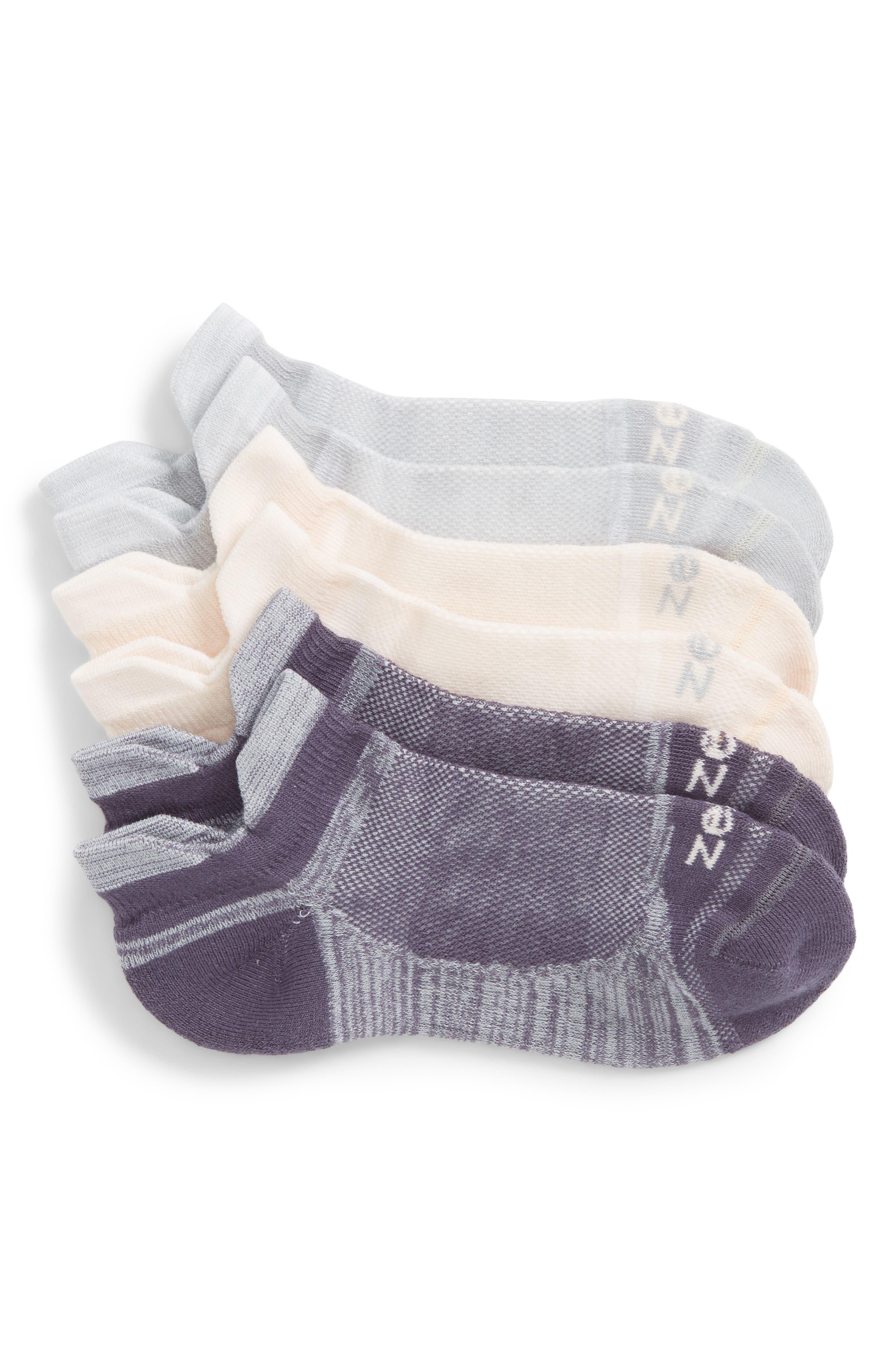 Main Image - Zella 3-Pack Running Socks