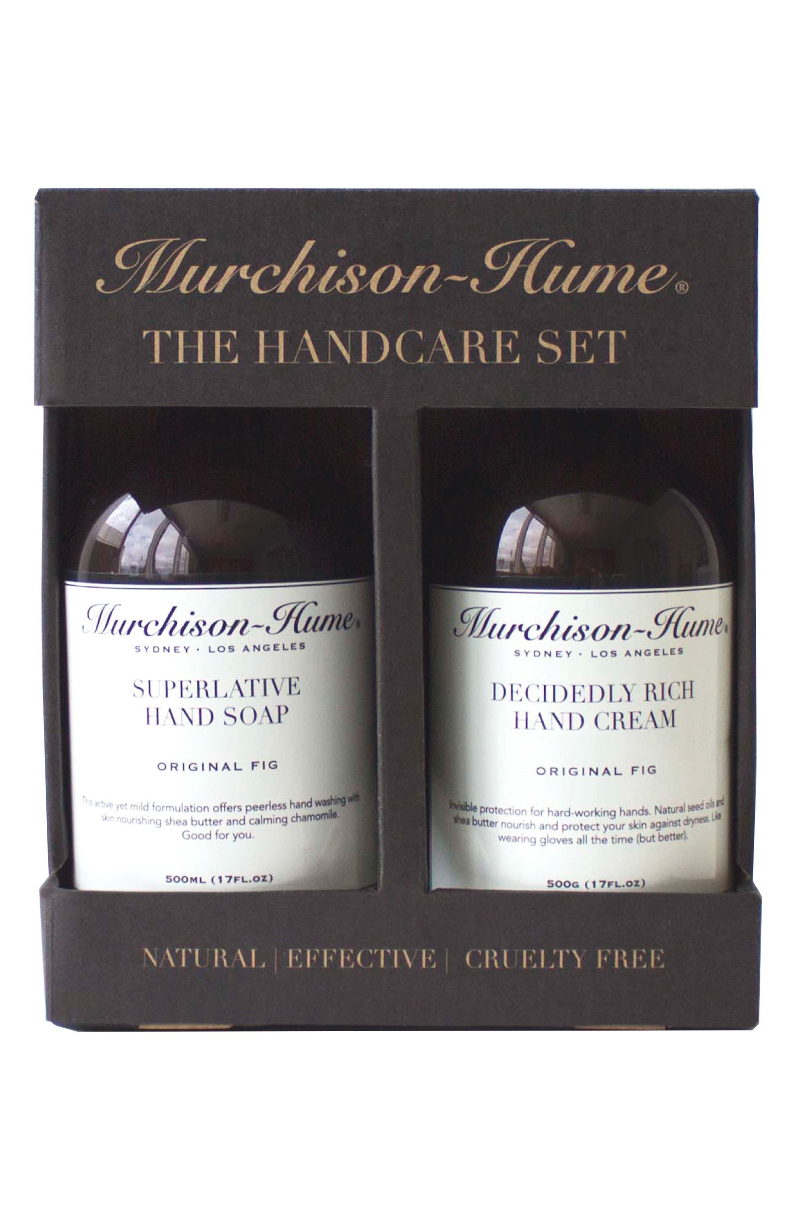 Hand Care Set,                         Main,                         color, Brown