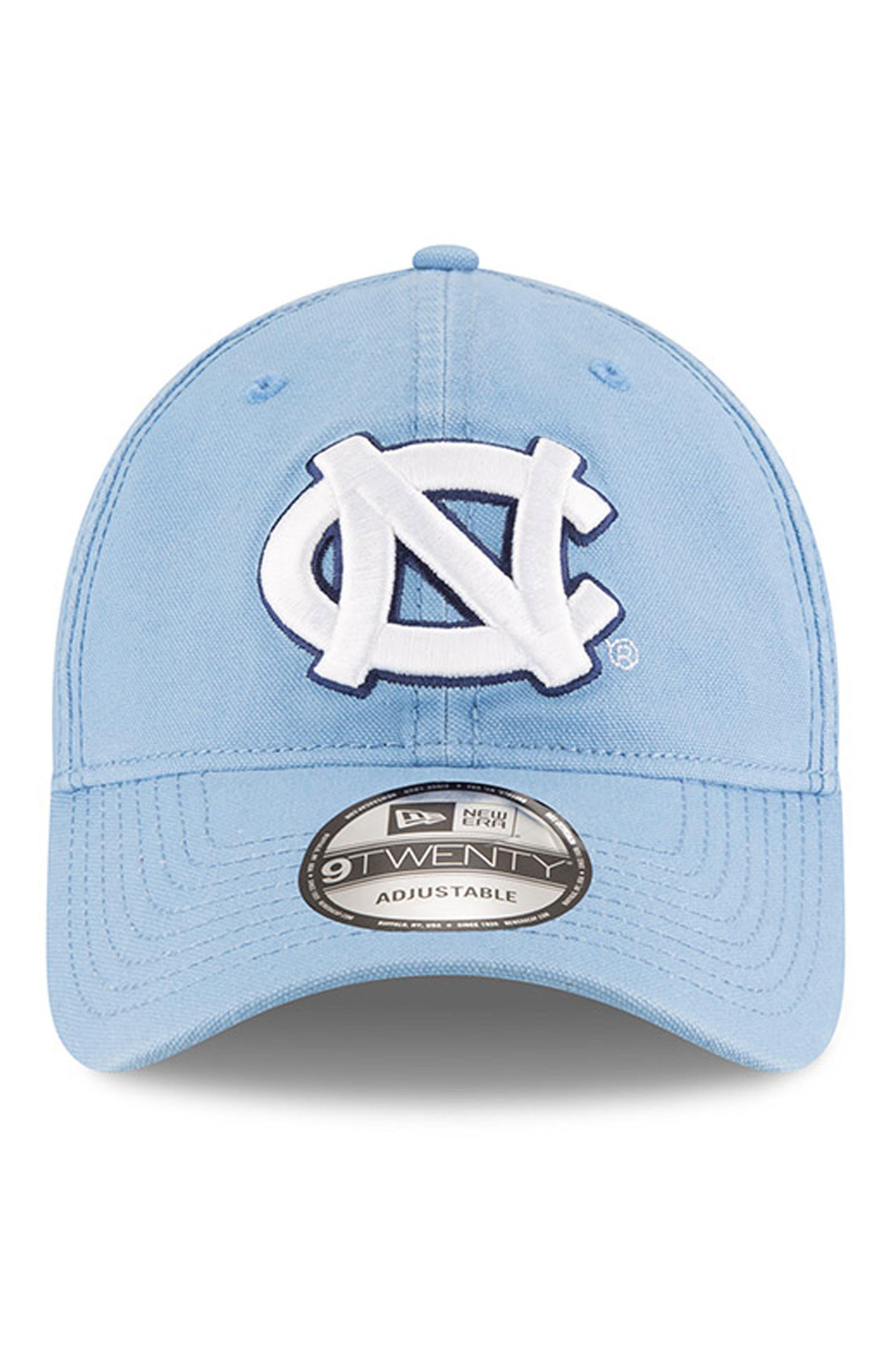 New Era Collegiate Core Classic - North Carolina Tar Heels Baseball Cap,                             Alternate thumbnail 5, color,                             North Carolina Tar Heels