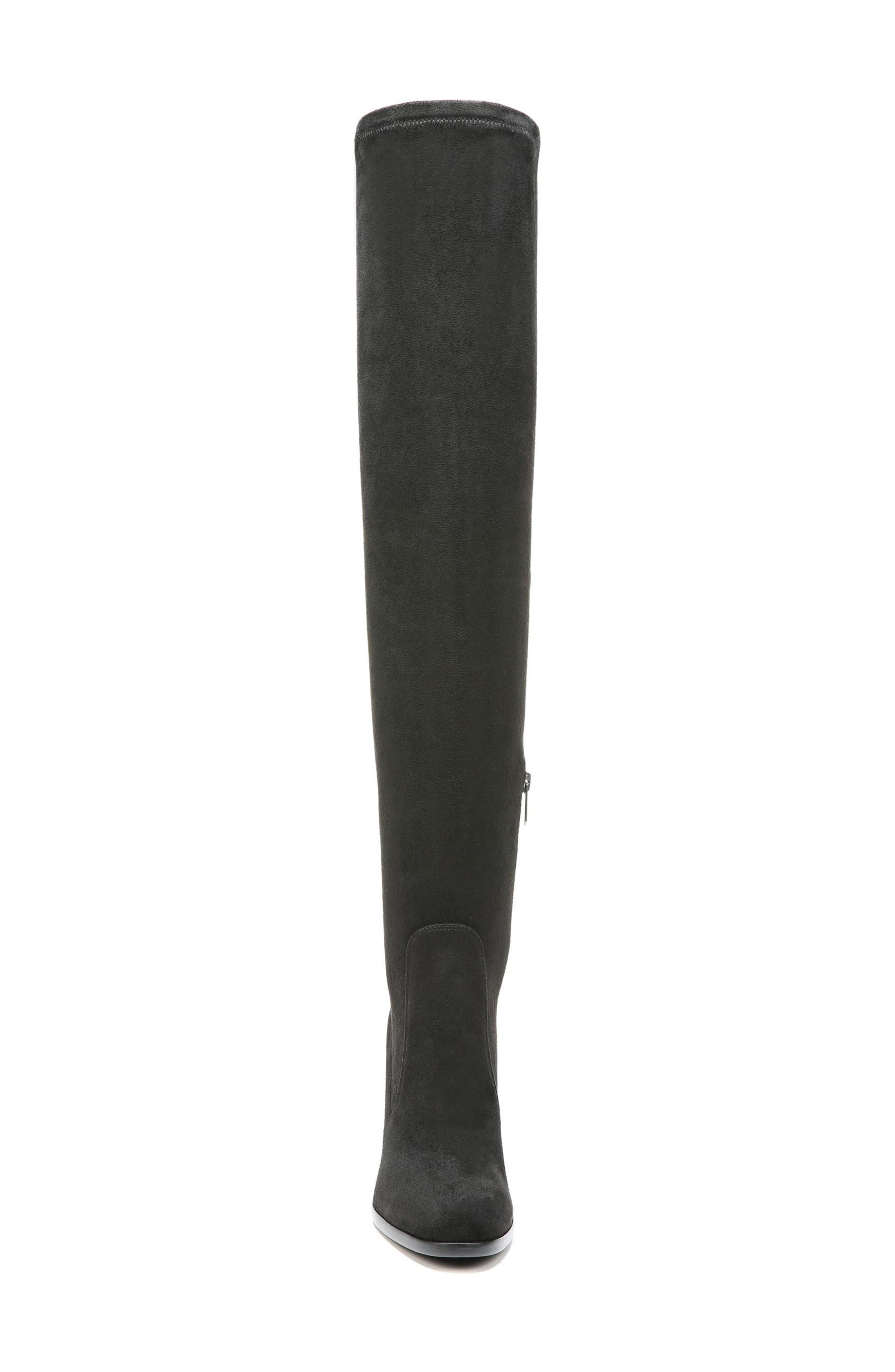 Vena 2 Over the Knee Boot,                             Alternate thumbnail 4, color,                             Black