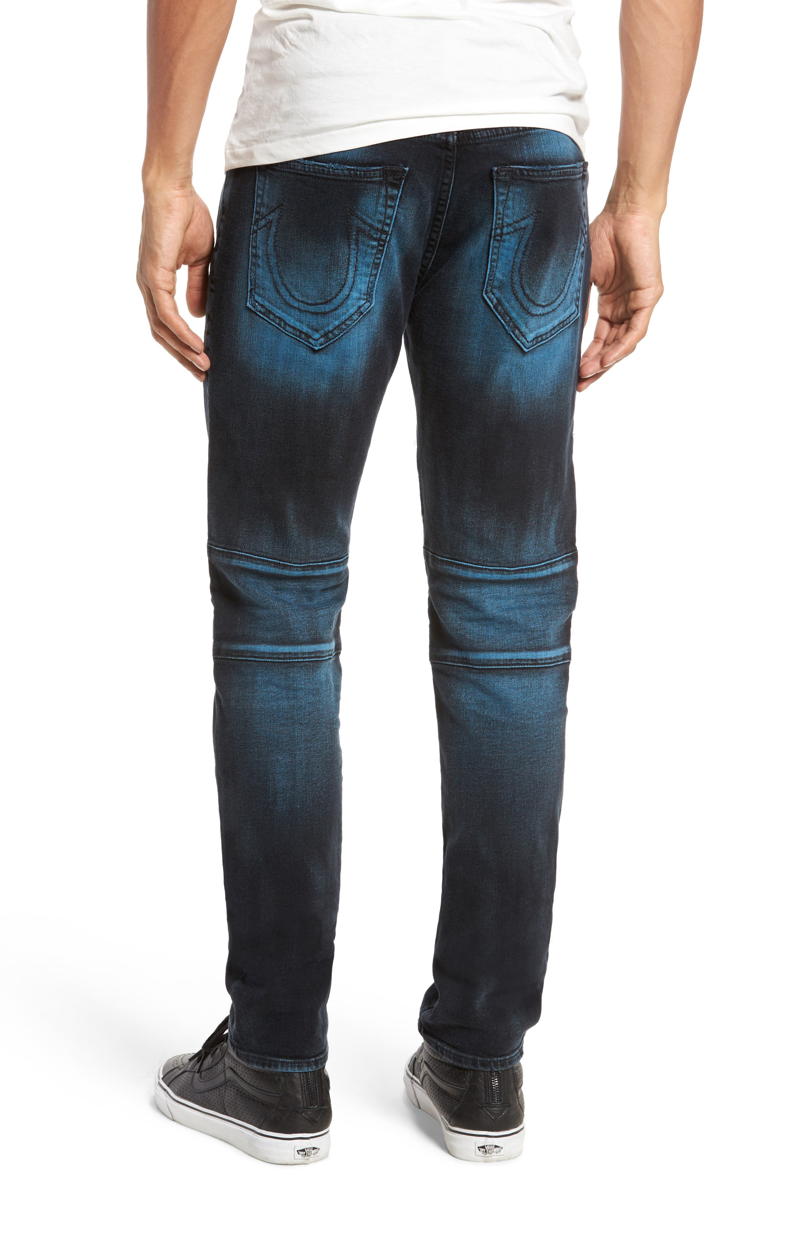 Rocco Skinny Fit Jeans,                             Alternate thumbnail 2, color,                             Blue Blaze