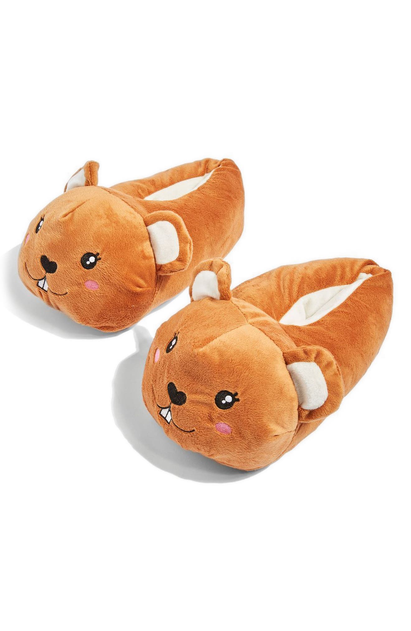 Topshop Pepa Hamster Slippers
