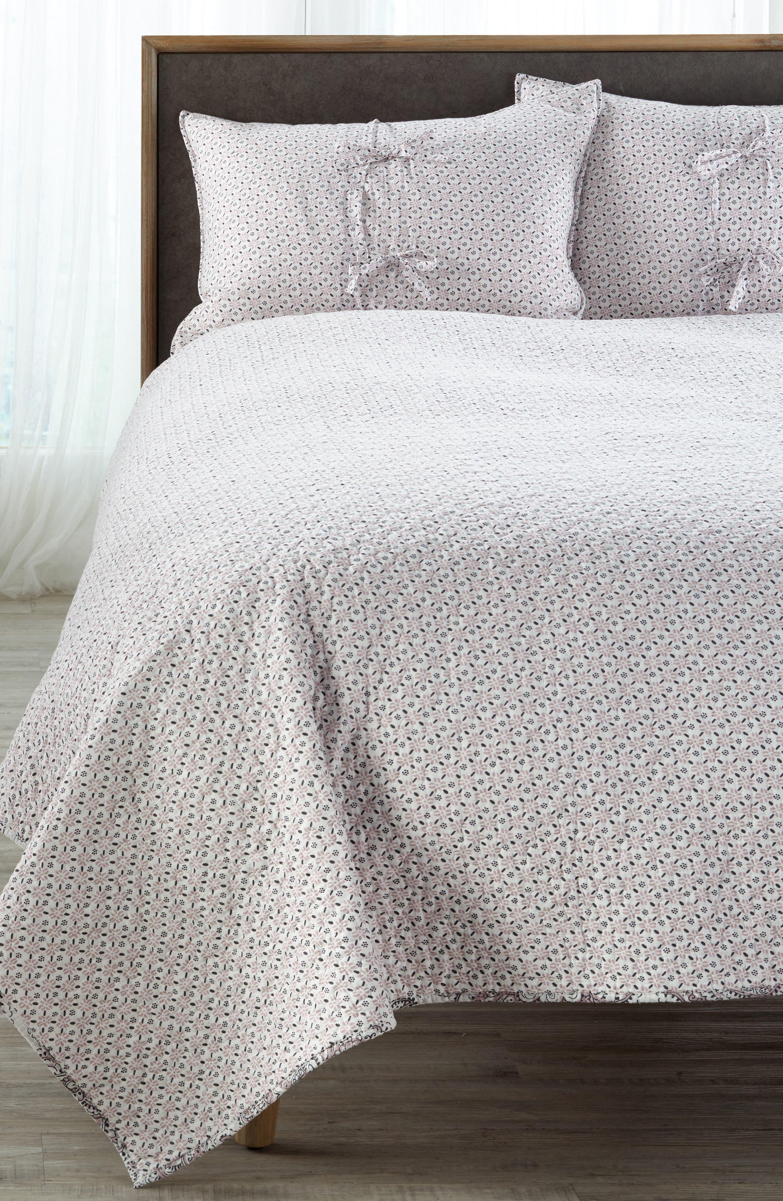 Parma Reversible Quilt,                             Alternate thumbnail 3, color,                             Lavender