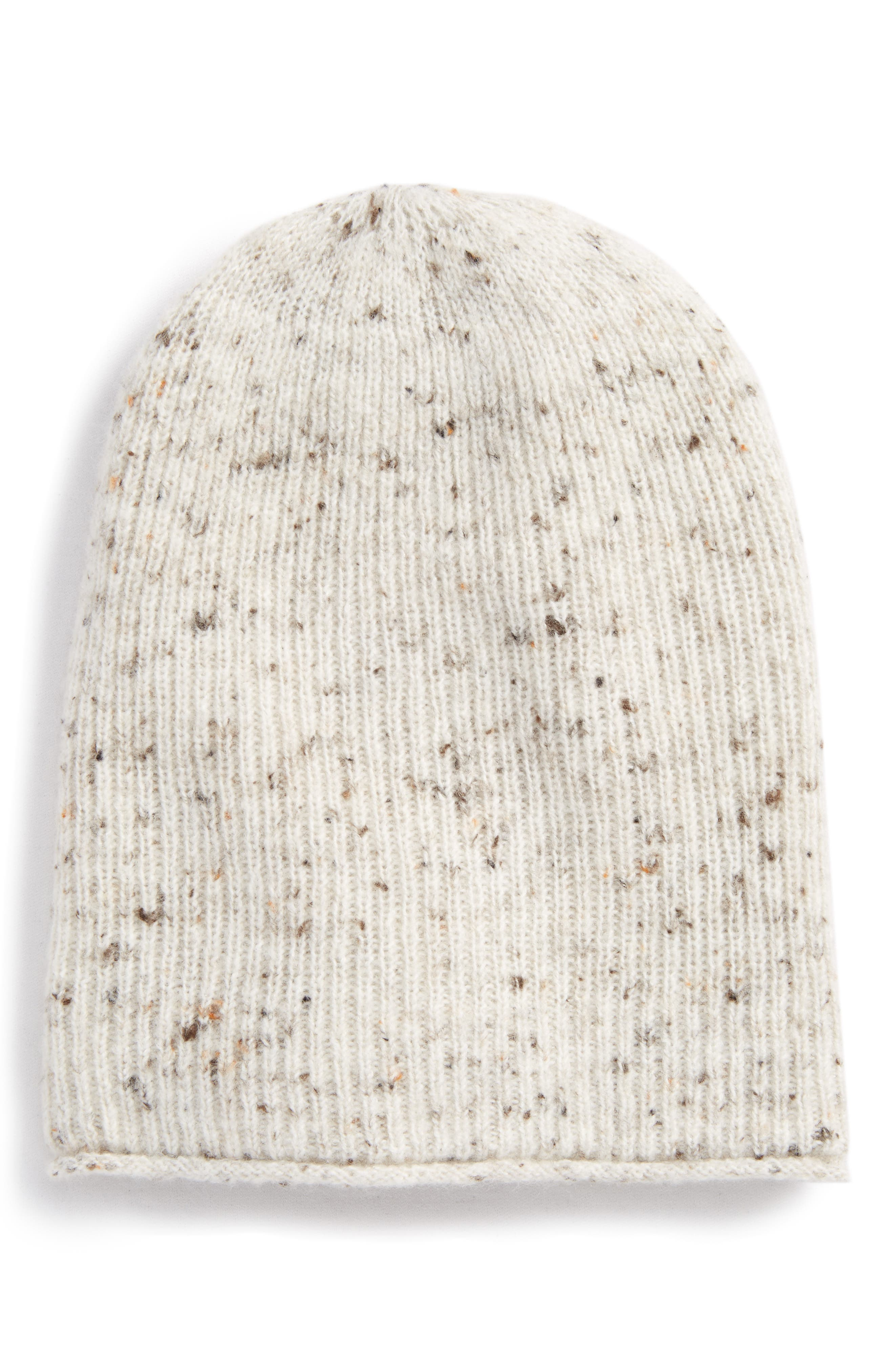 Donegal Kent Beanie,                         Main,                         color, Donegal Snow