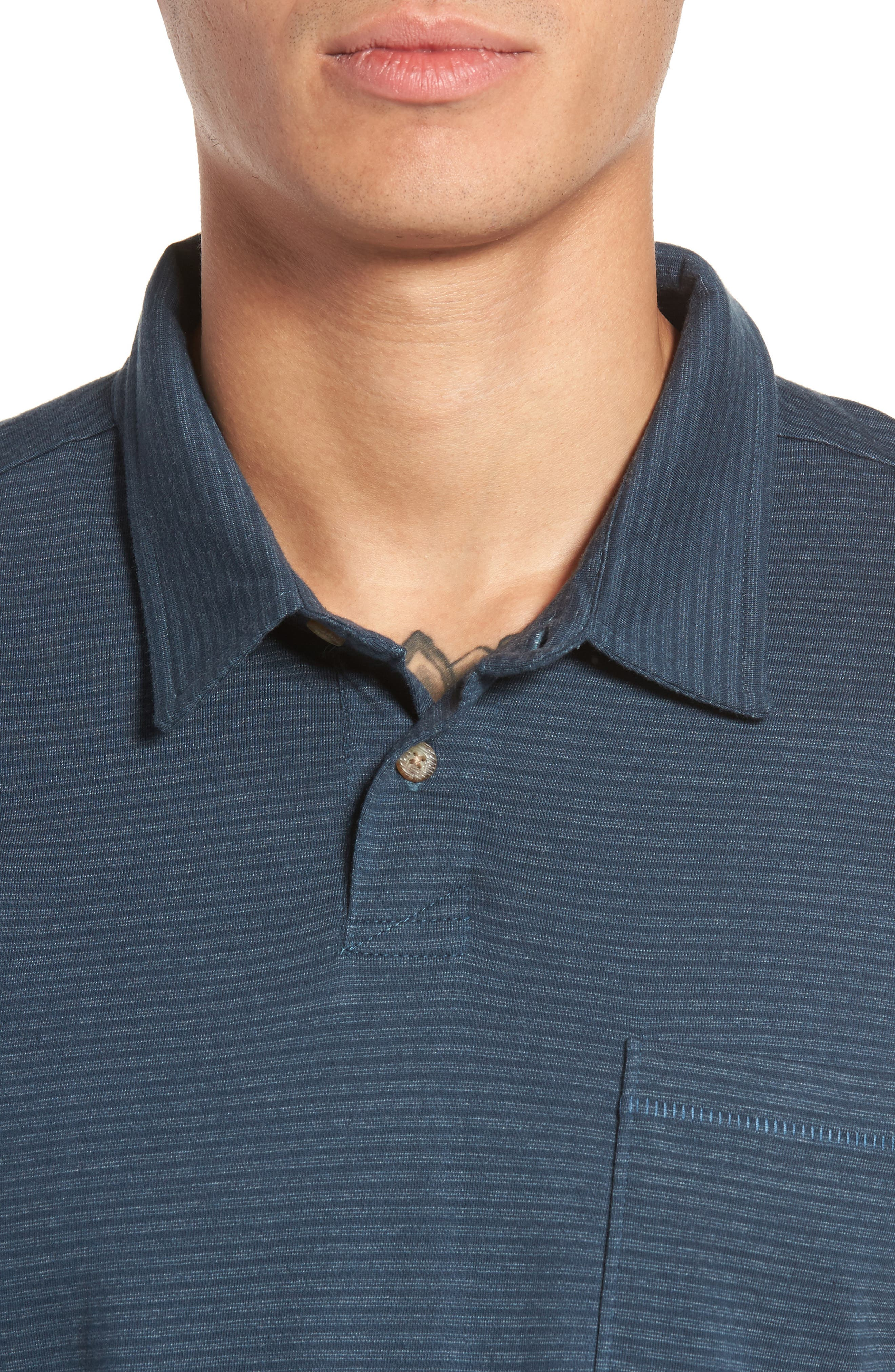Standard Issue Polo,                             Alternate thumbnail 4, color,                             Navy