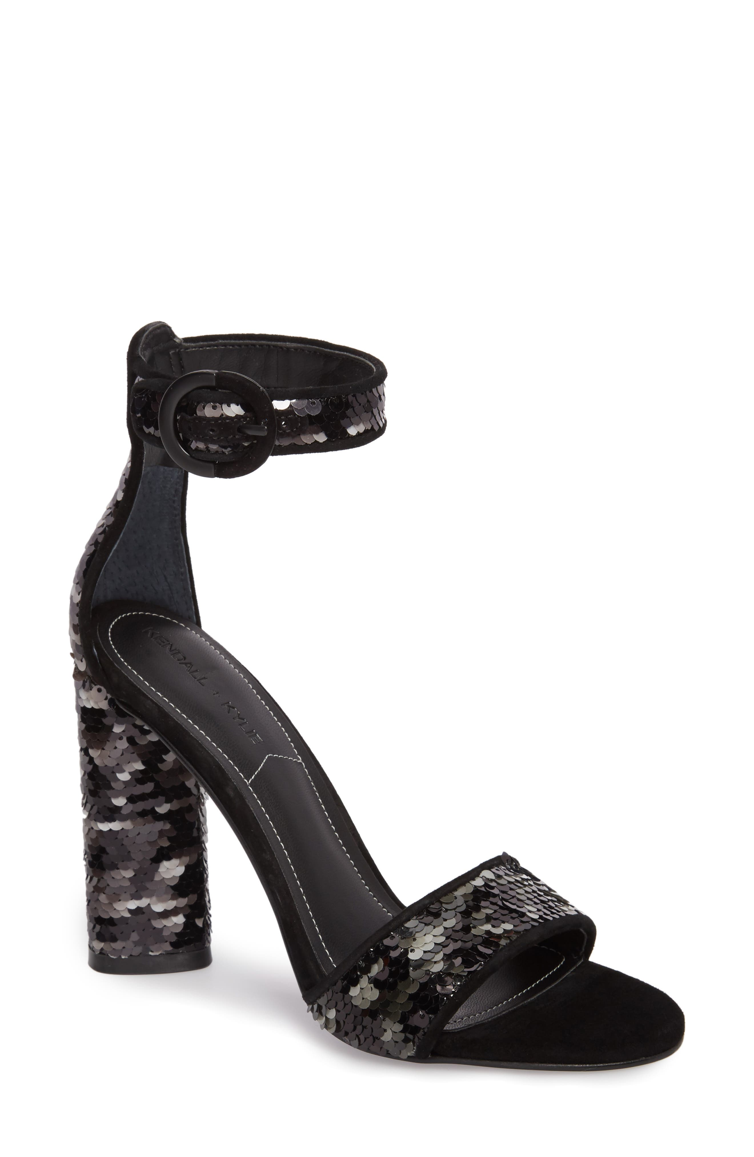 KENDALL + KYLIE Giselle Ankle Strap Sandal (Women)