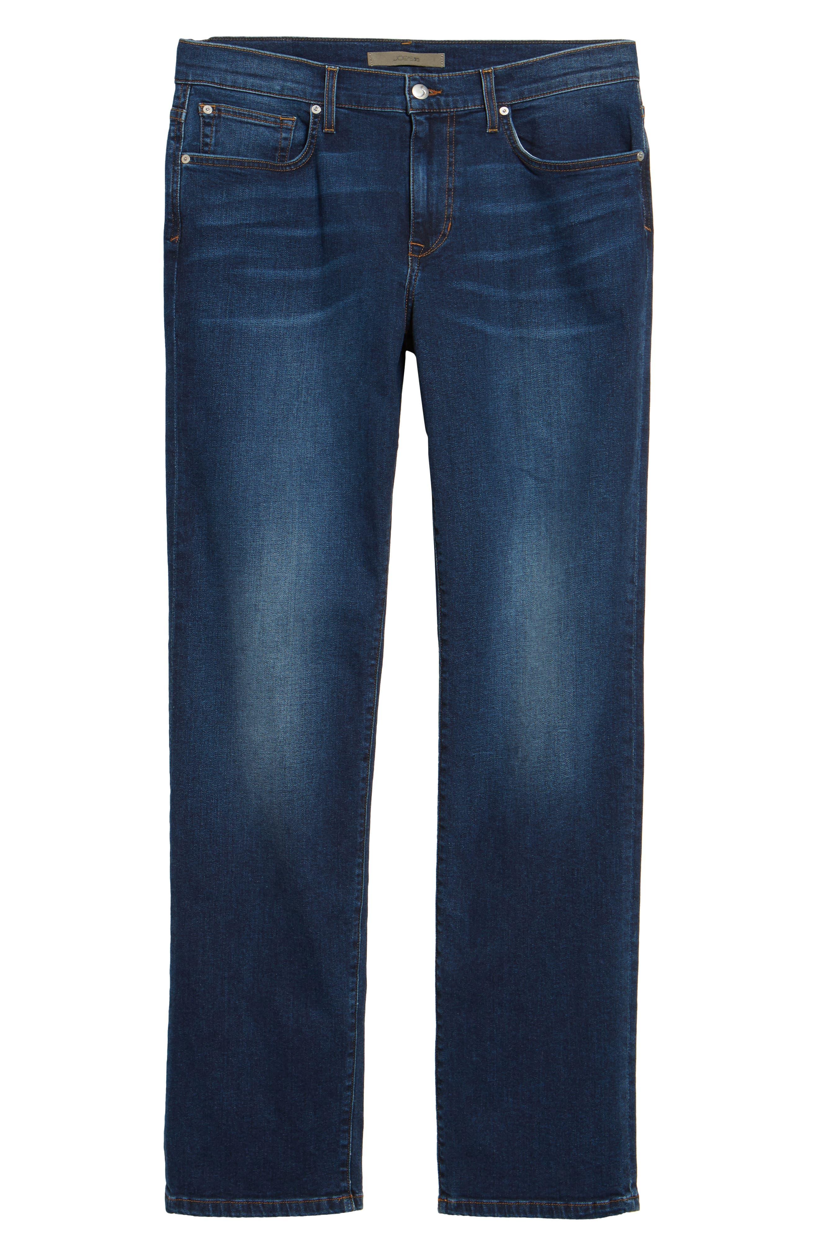 Brixton Slim Straight Leg Jeans,                             Alternate thumbnail 6, color,                             Line