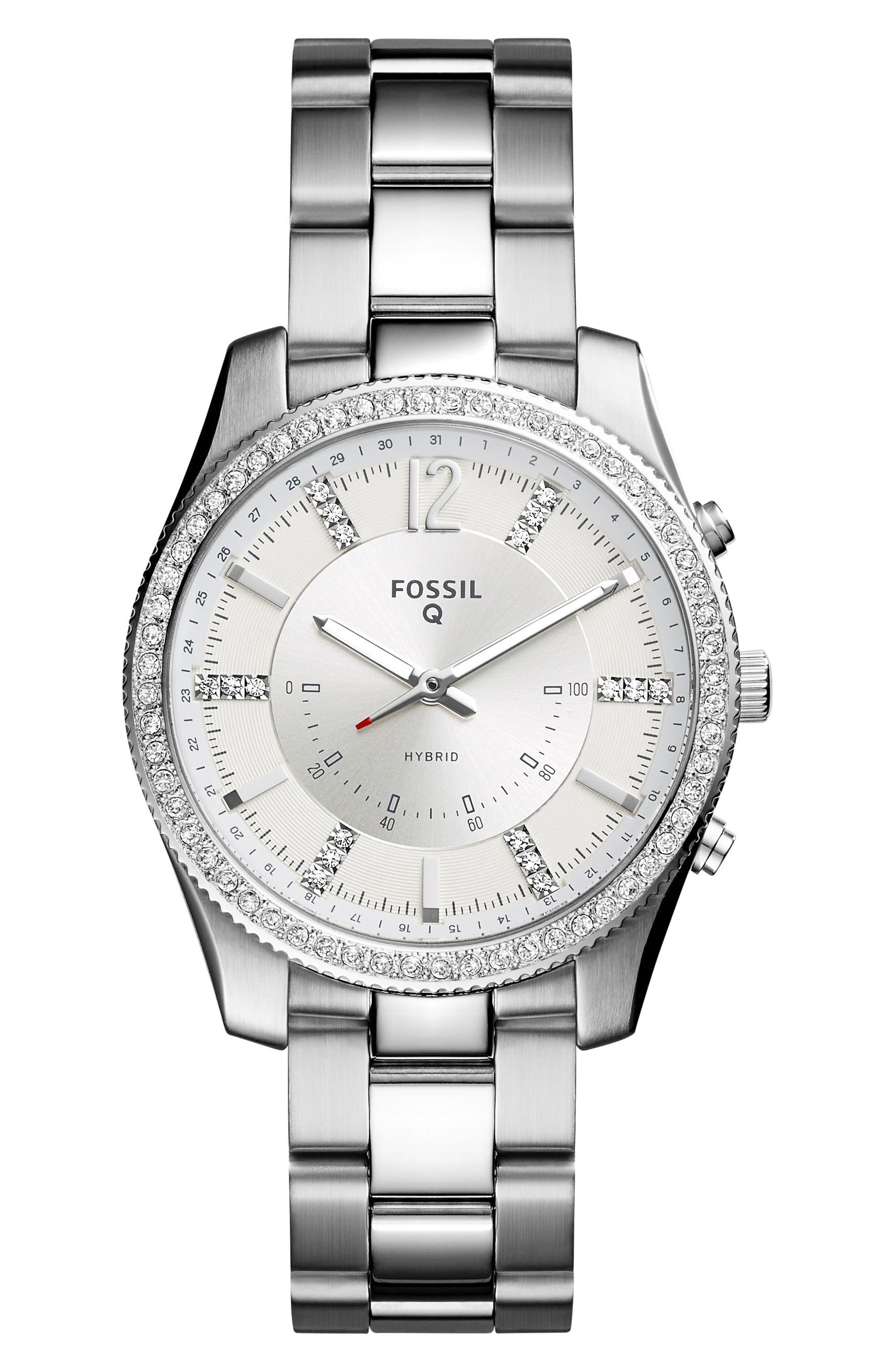 Main Image - Fossil Q Scarlette Smart Bracelet Watch, 38mm