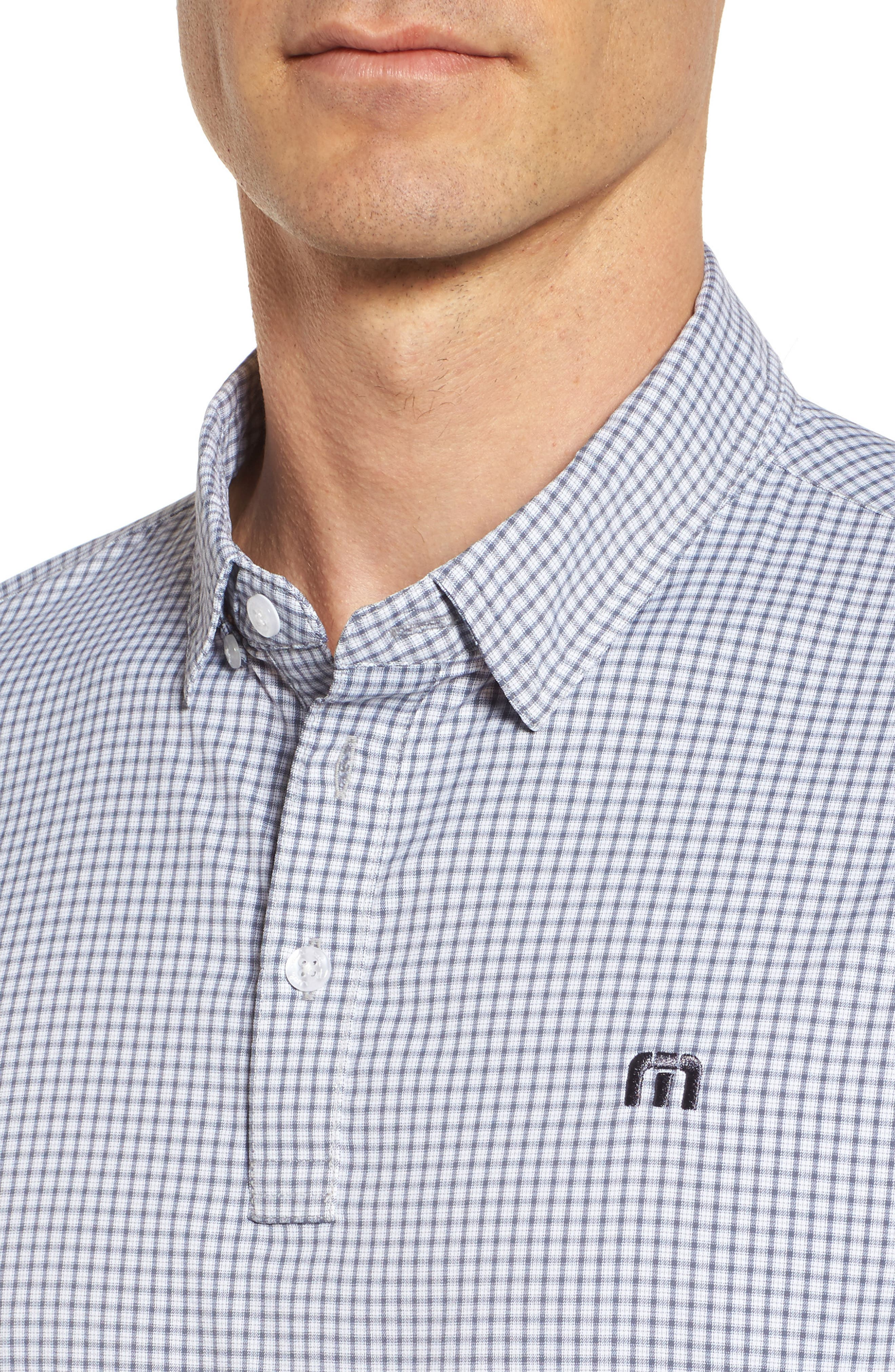 Zim Polo,                             Alternate thumbnail 4, color,                             White/ Grisaille