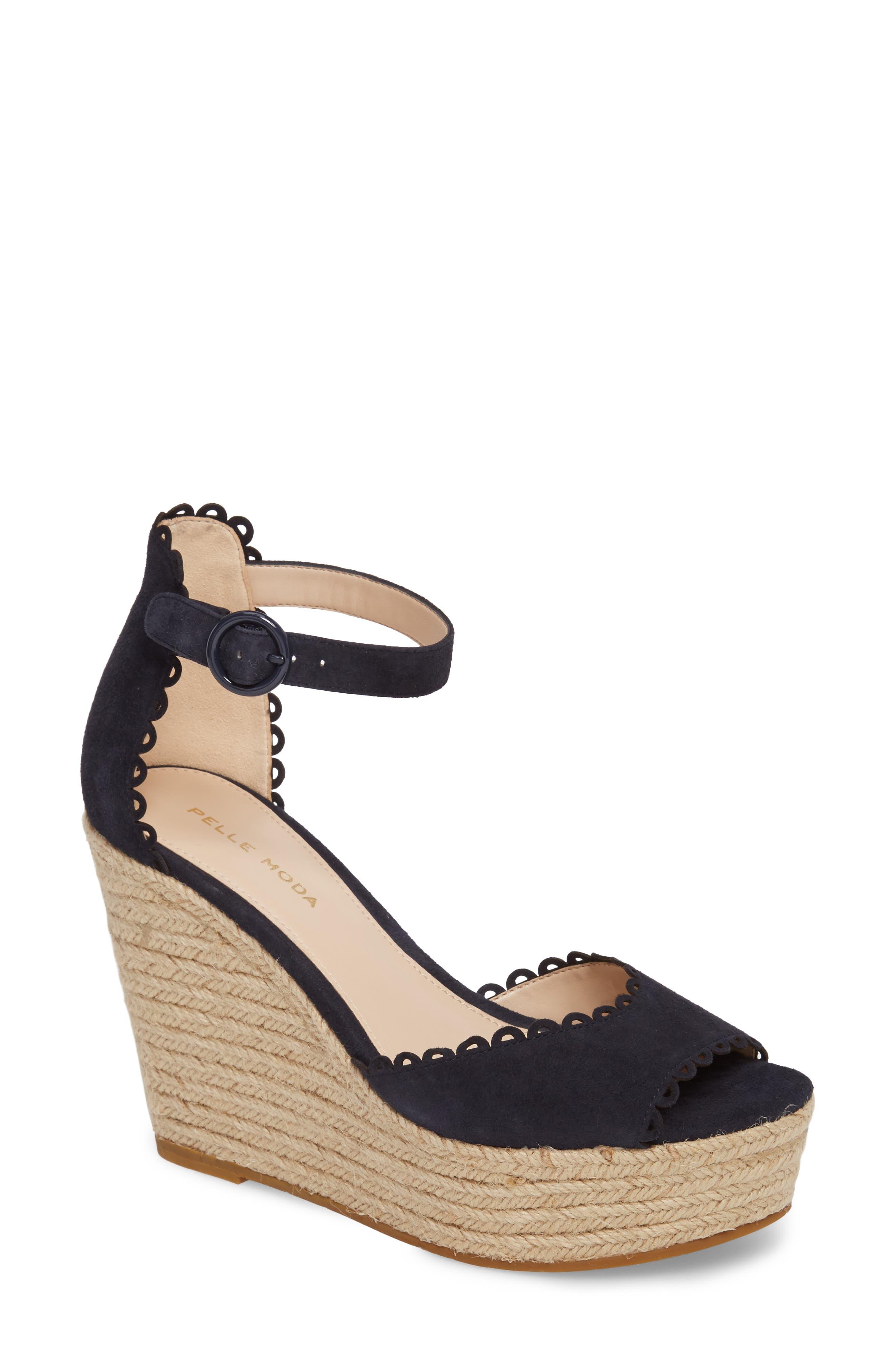 Pelle Moda Raine Platform Espadrille Sandal (Women)