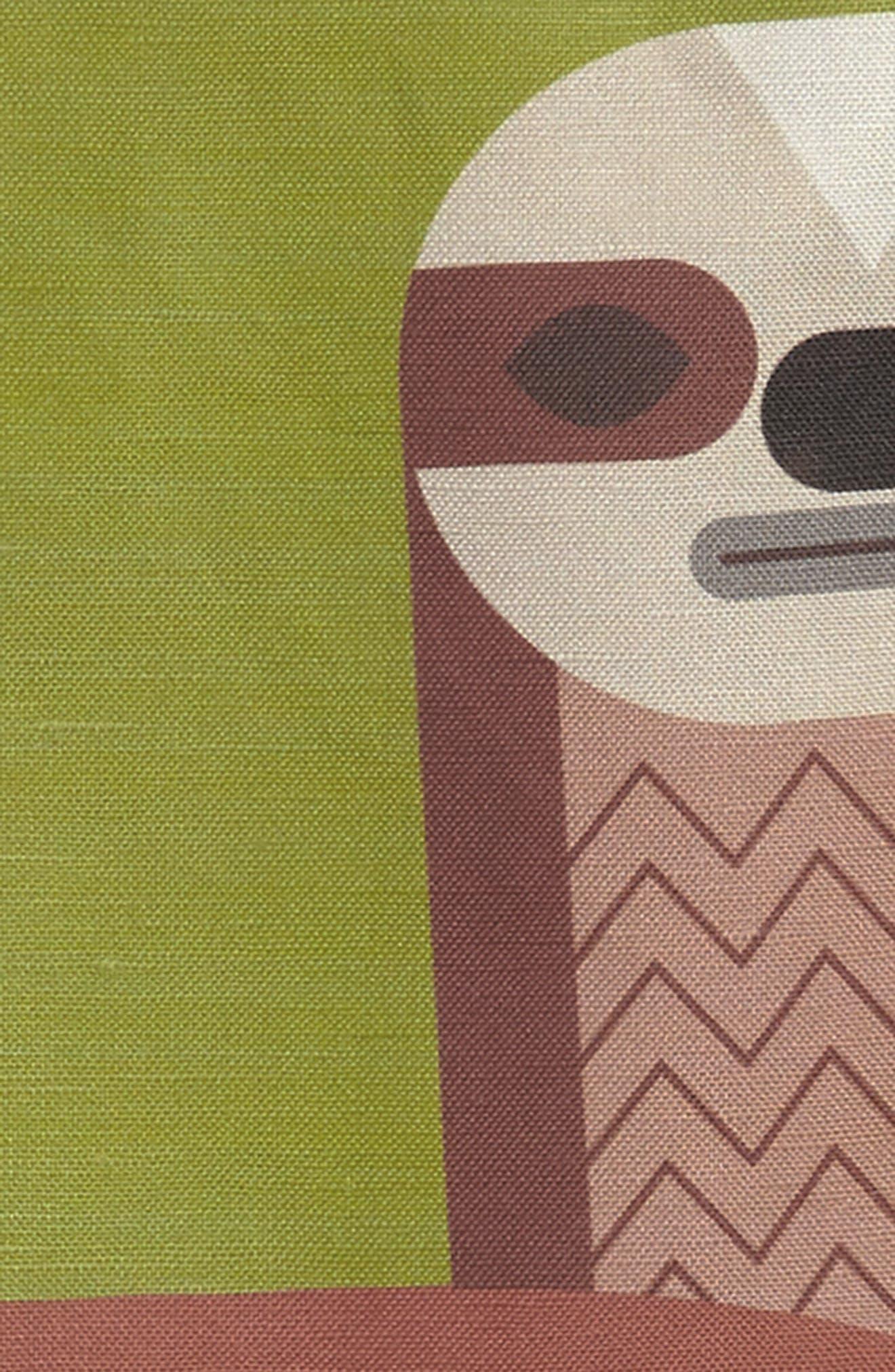 Sloth Shift Dress,                             Alternate thumbnail 3, color,                             Fern