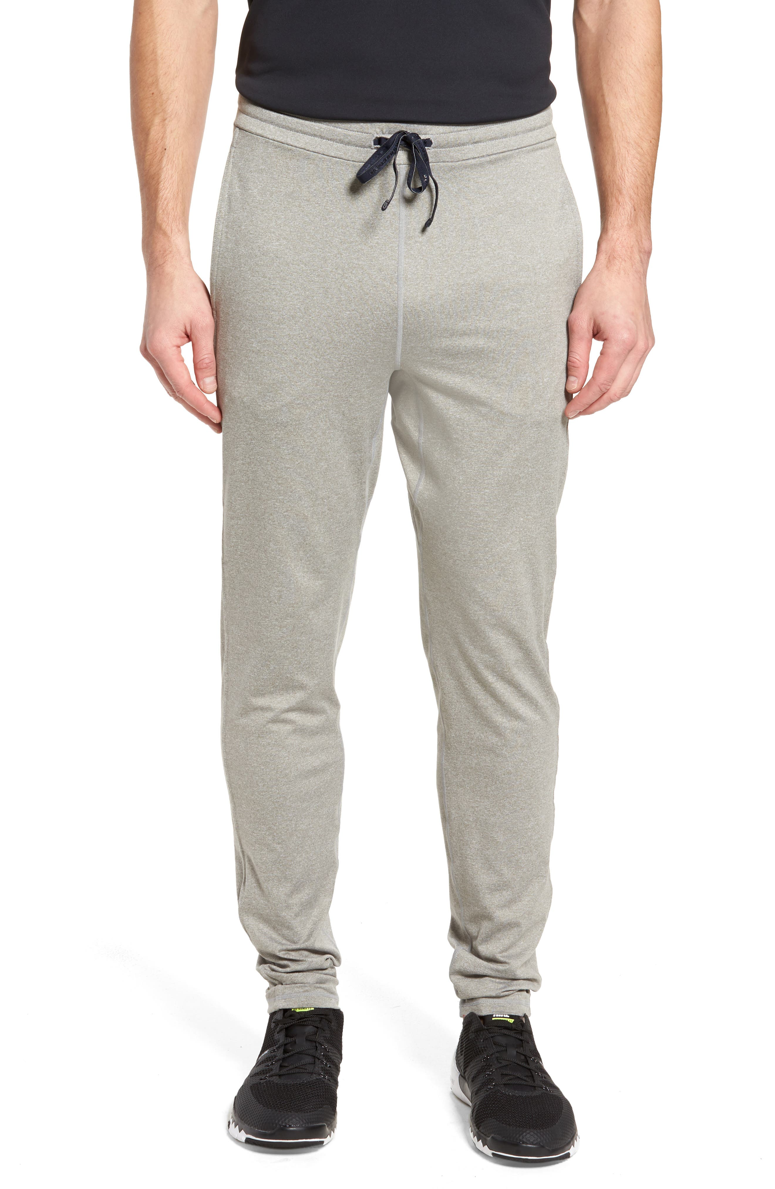 Go-To Slim Athletic Pants,                         Main,                         color, Grey Heather