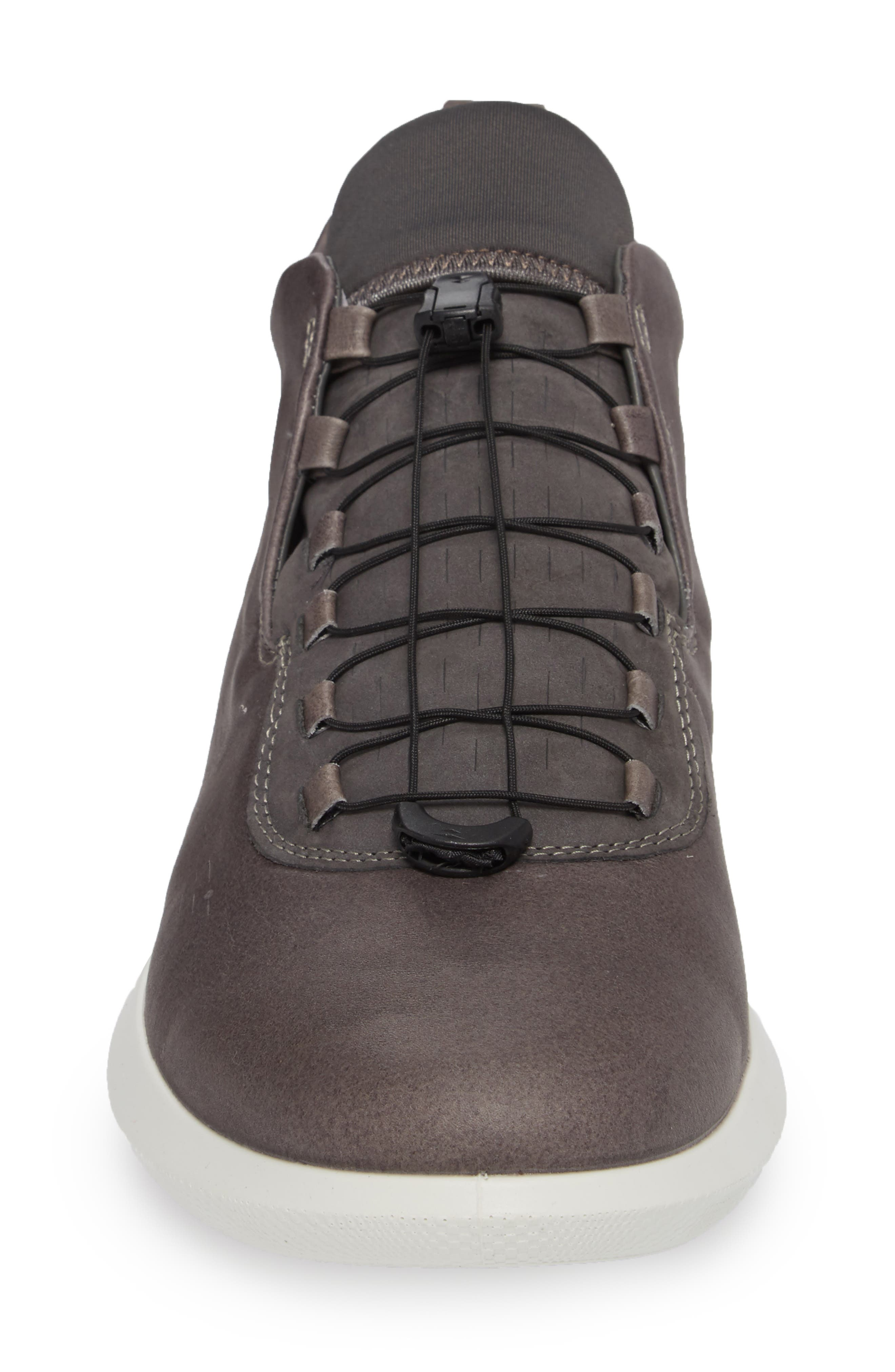 Scinapse High Top Sneaker,                             Alternate thumbnail 4, color,                             Wild Dove Leather