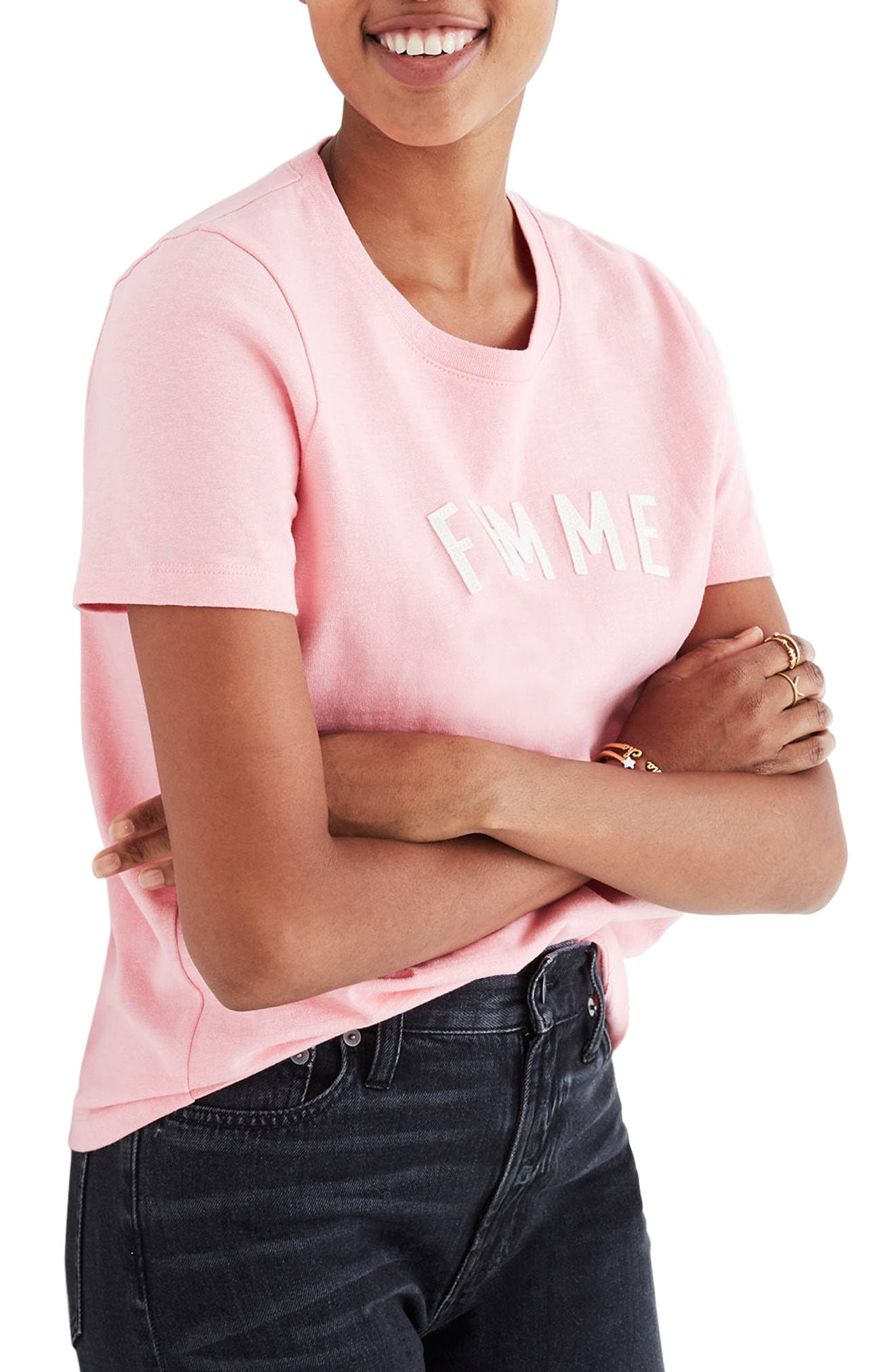 Femme Tee,                         Main,                         color, Rose Wine