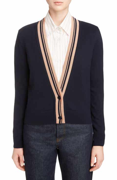 Dries Van Noten Merino Wool Blend Cardigan