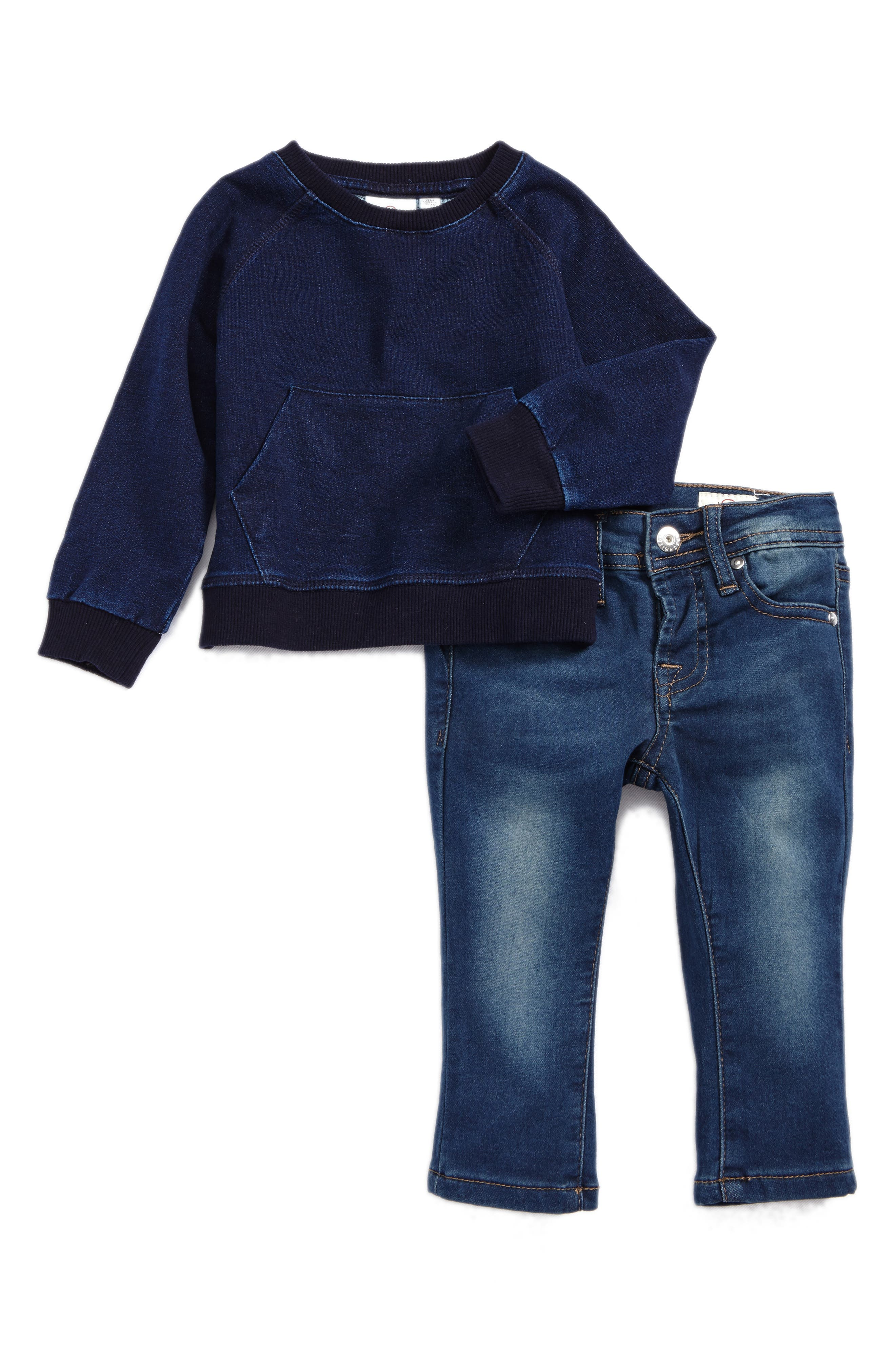 ag adriano goldschmied kids T-Shirt & Jeans Set (Baby Boys)