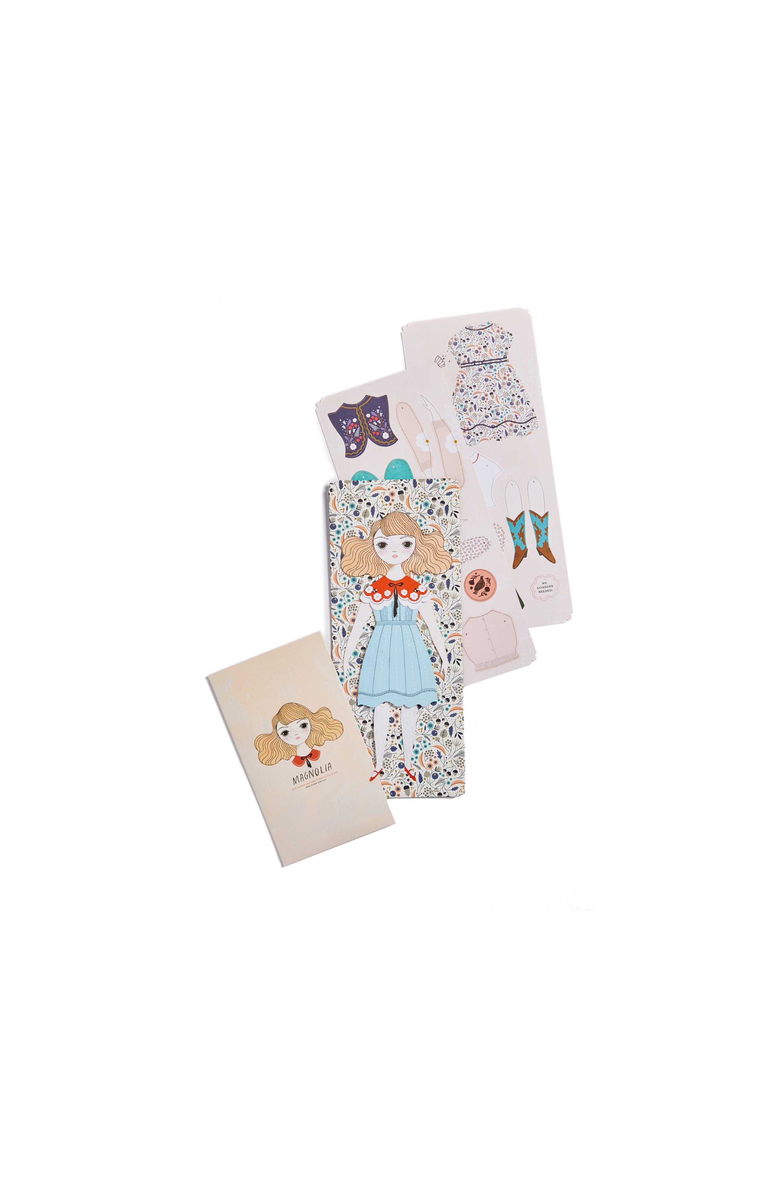 Of Unusual Kind Magnolia Paper Doll Kit
