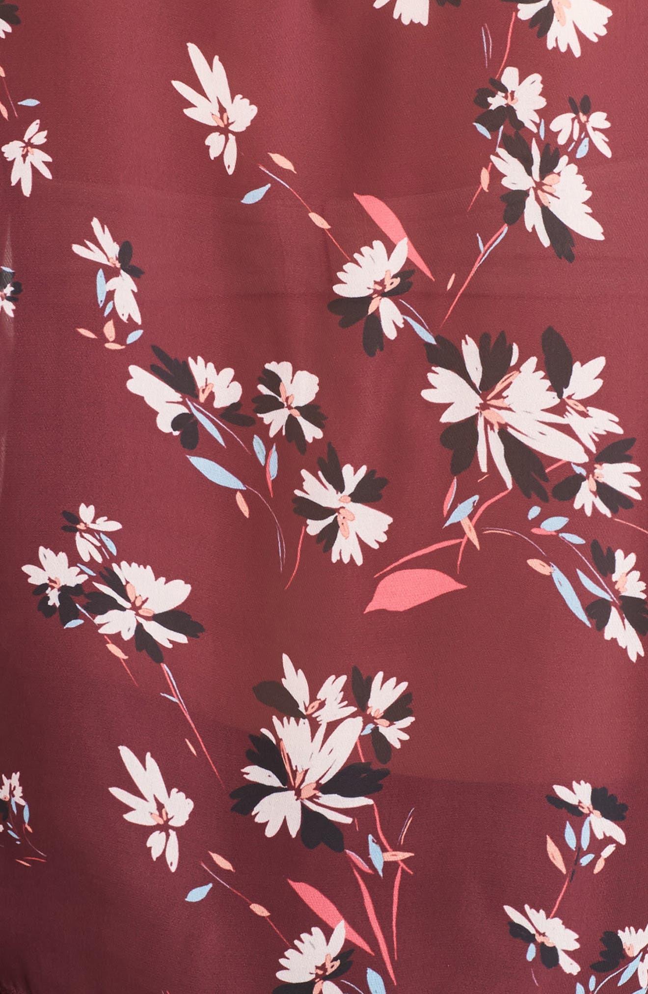 Sonoma Bell Sleeve Blouse,                             Alternate thumbnail 5, color,                             Lotus