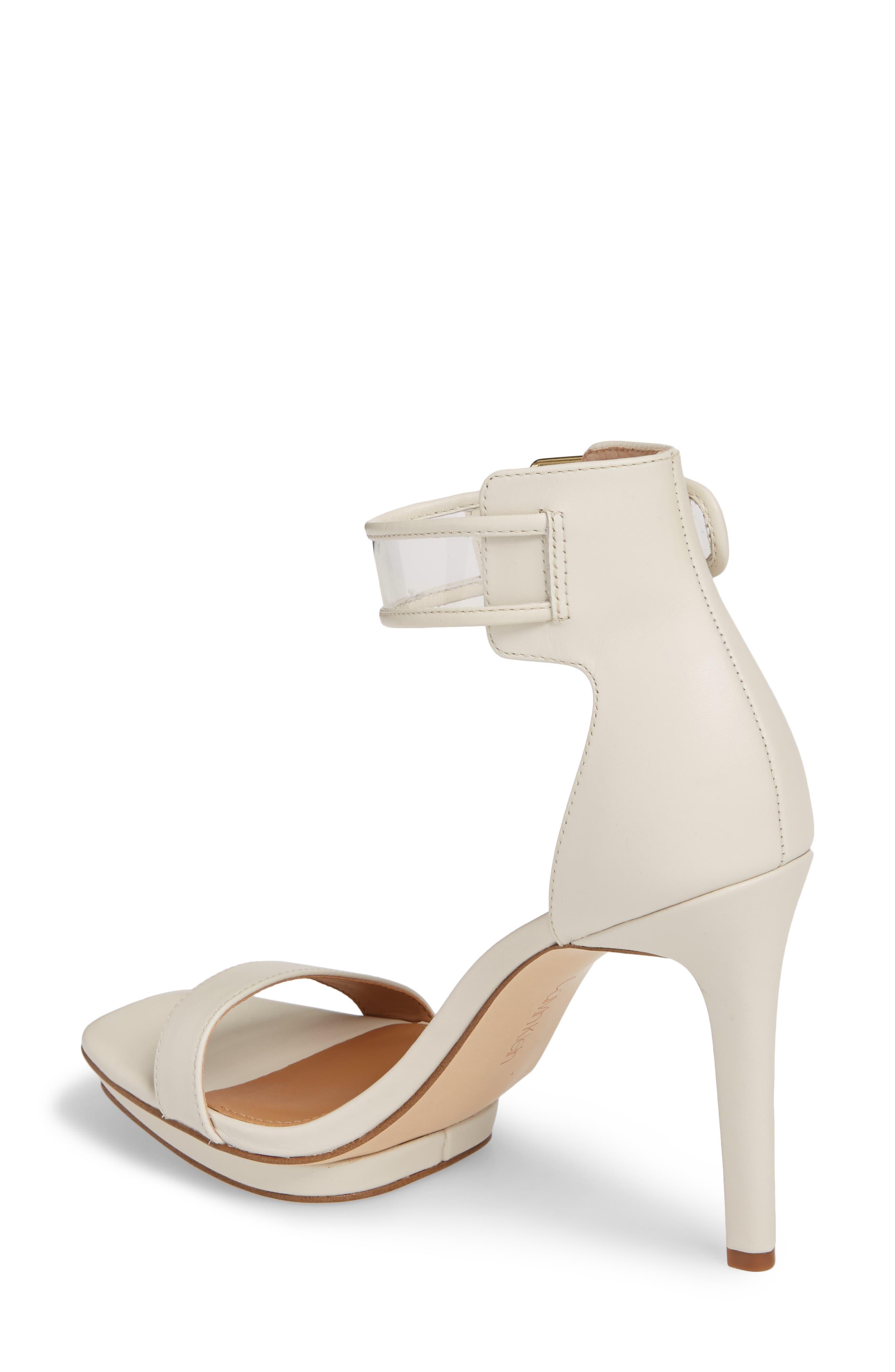 Vable Sandal,                             Alternate thumbnail 2, color,                             Soft White Leather