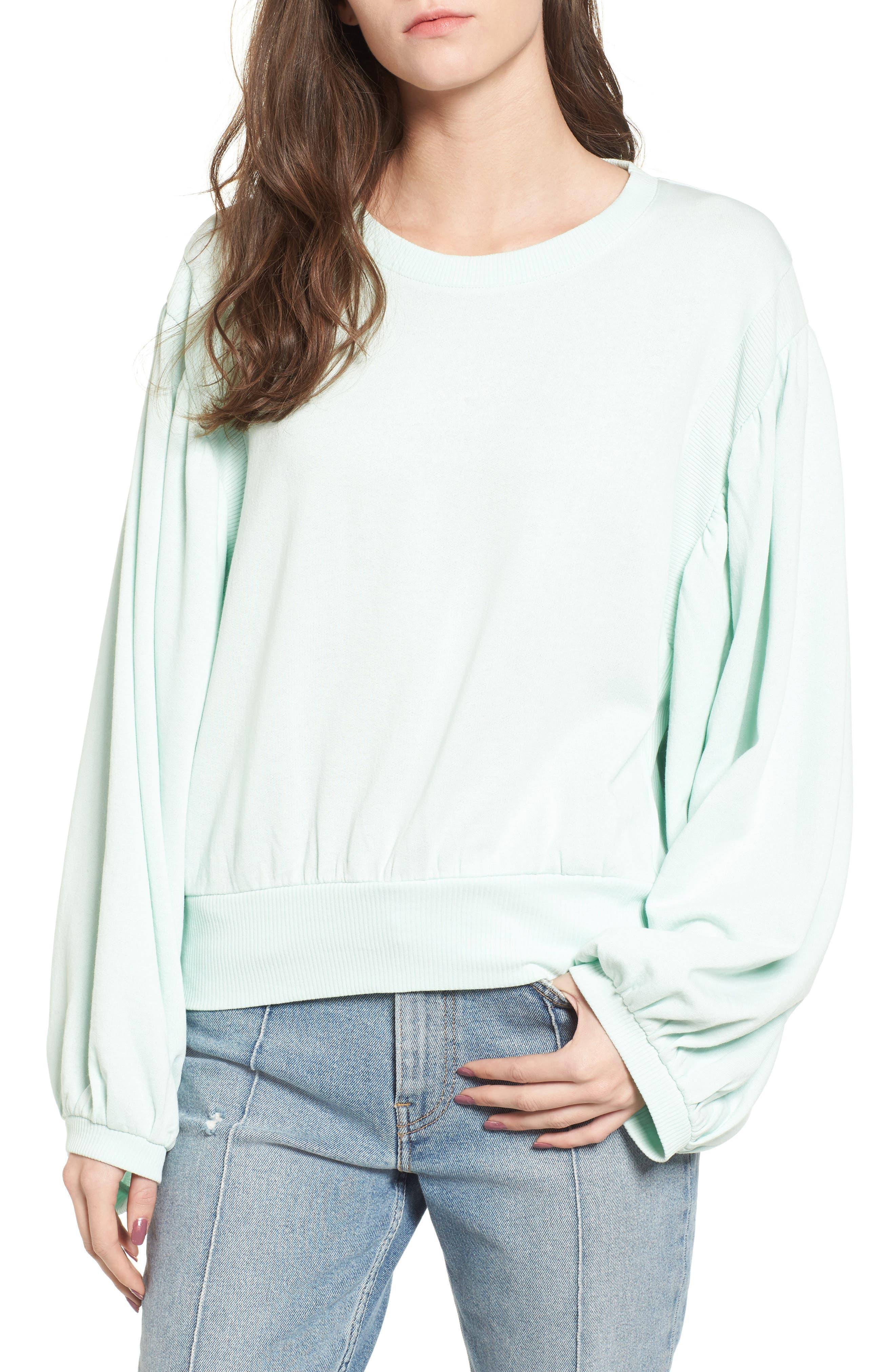 BP. Puff Sleeve Sweatshirt