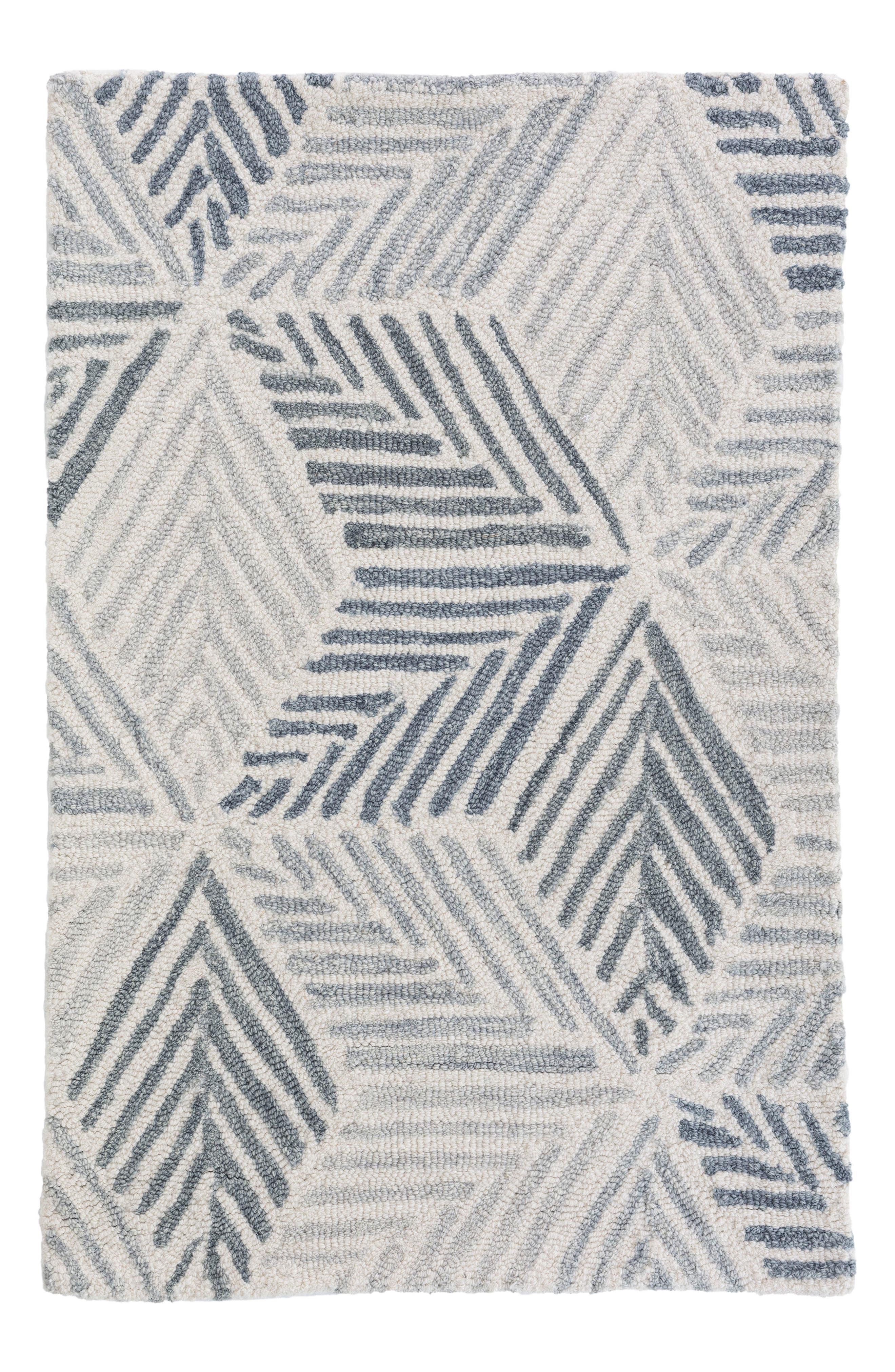 Alternate Image 1 Selected - Dash & Albert Karari Hooked Wool Rug