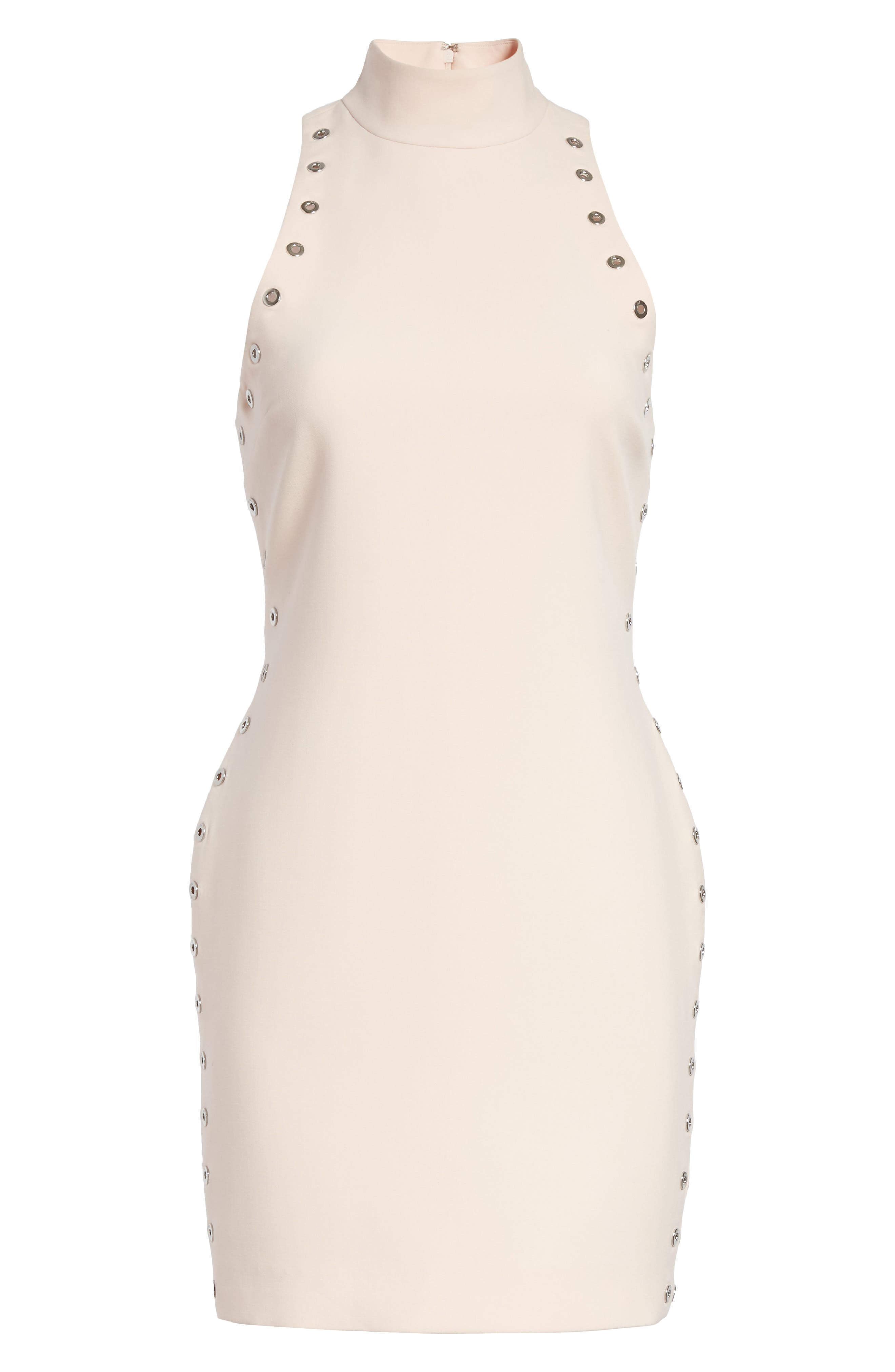 Ava Grommet Minidress,                             Alternate thumbnail 6, color,                             Pearl Blush