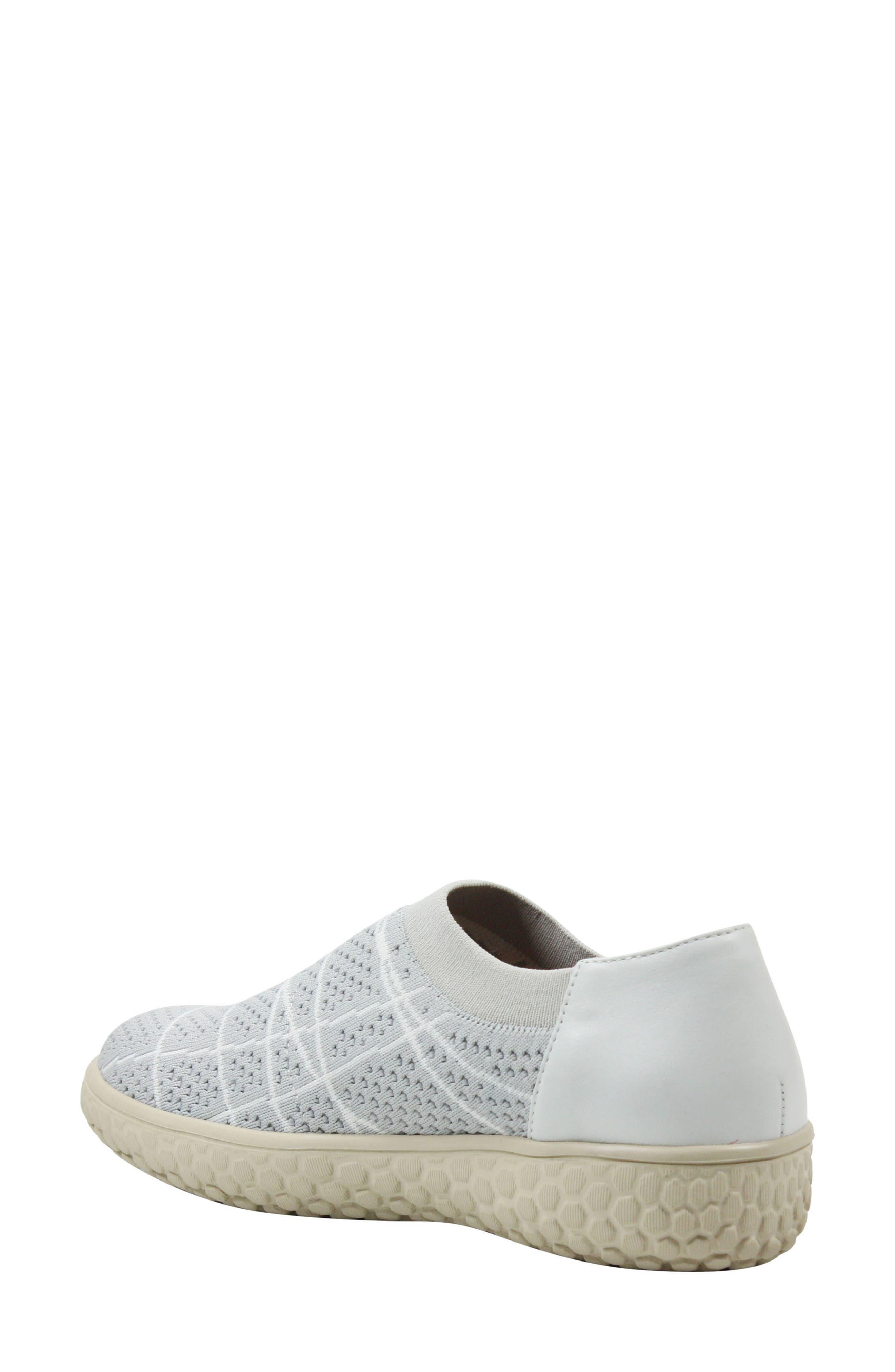 Zohndra Slip-On Sneaker,                             Alternate thumbnail 2, color,                             Beige Fabric