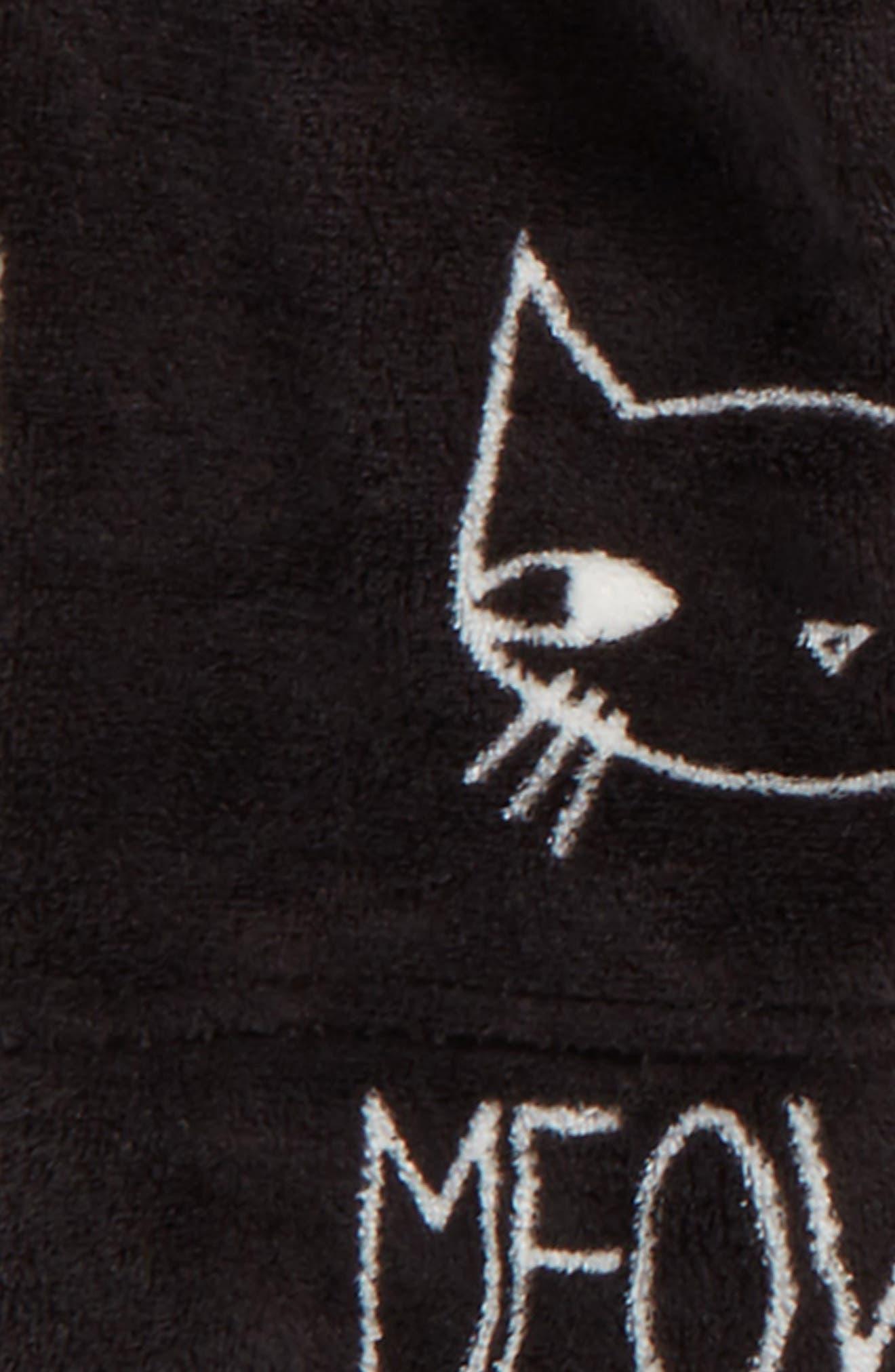 Alternate Image 2  - Aegean Kitty Print Robe (Big Girls)