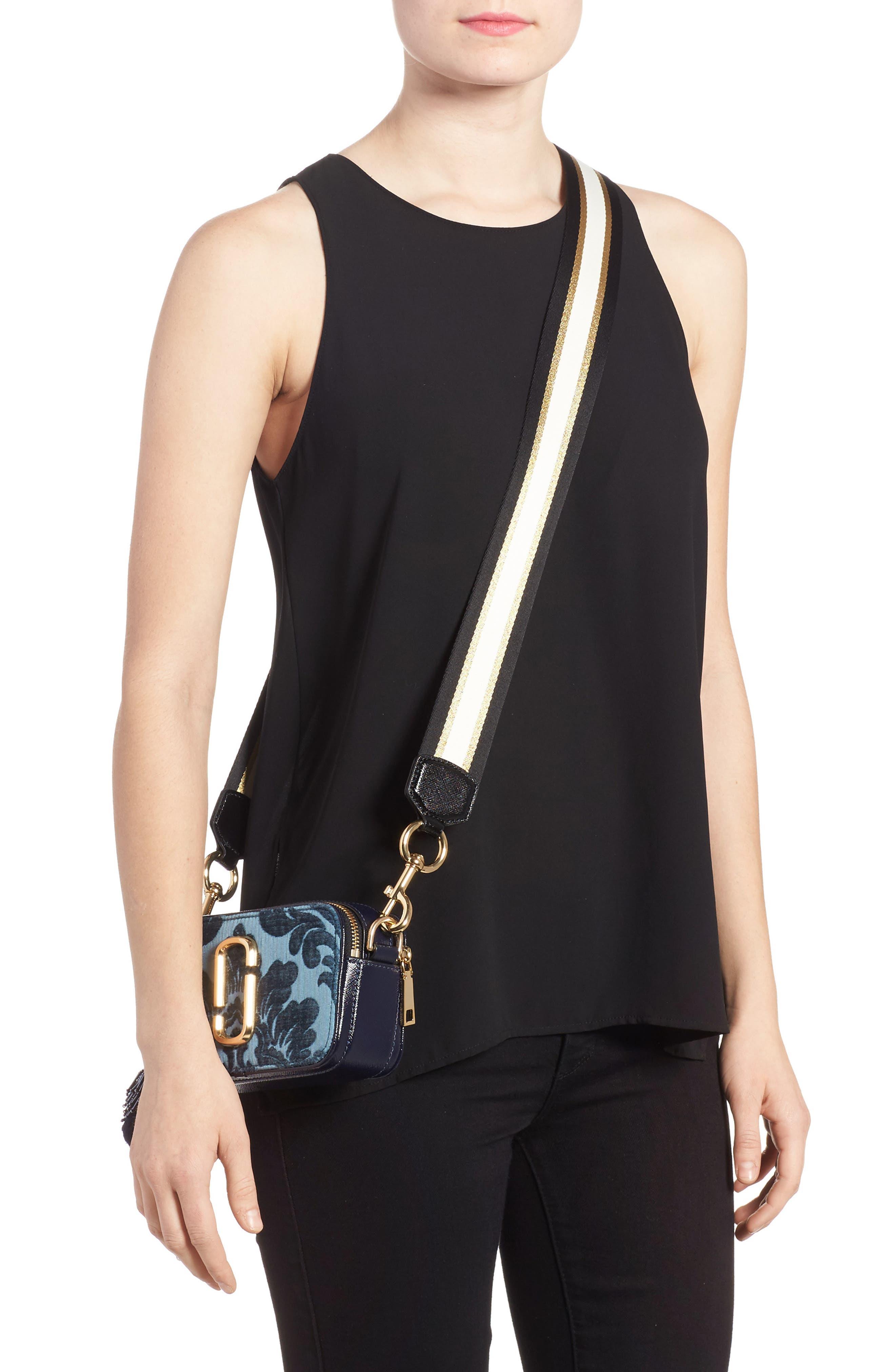 Alternate Image 2  - MARC JACOBS Snapshot Jacquard Crossbody Bag