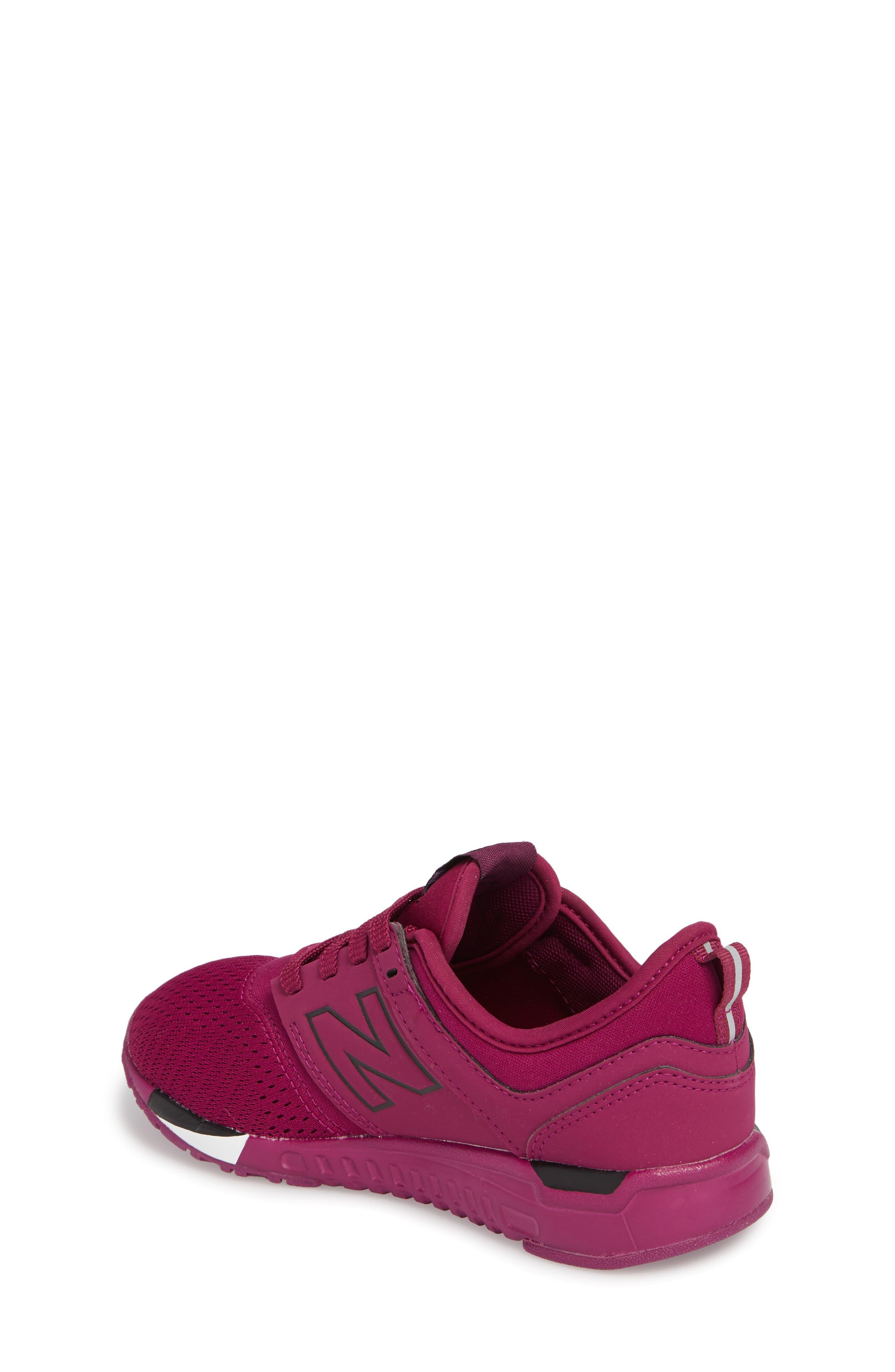 247 Sport Sneaker,                             Alternate thumbnail 2, color,                             Red/ Black