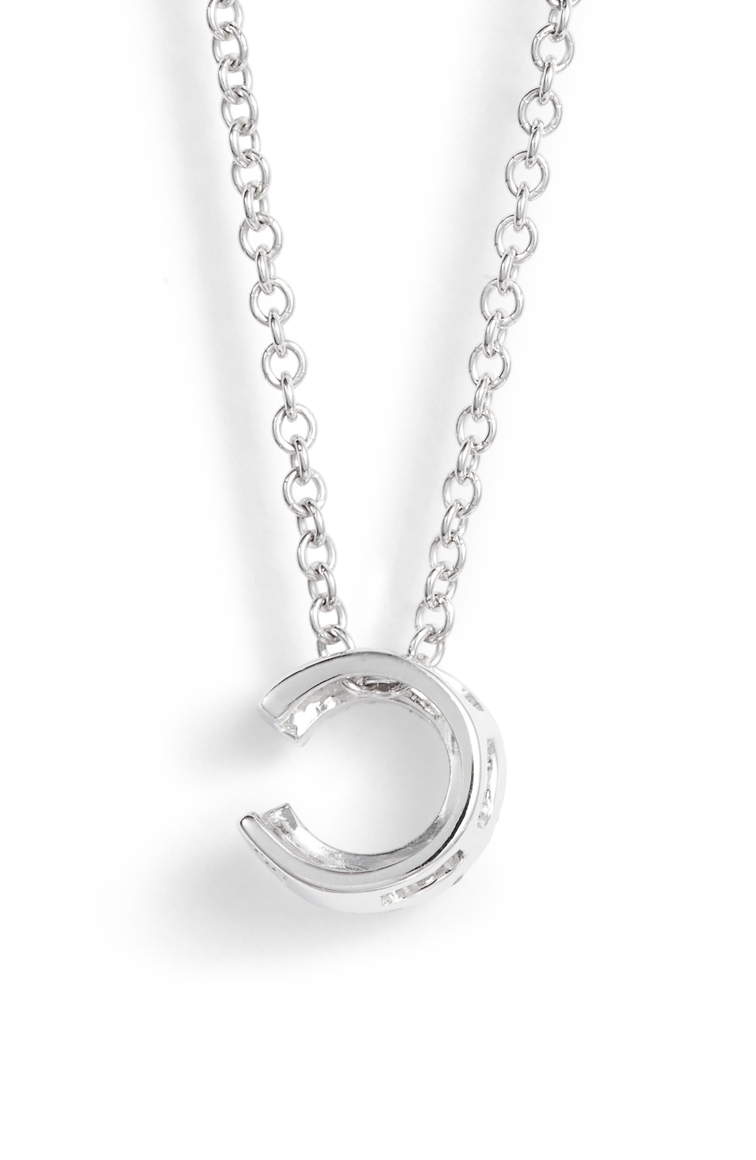 Alternate Image 4  - Bony Levy Pavé Diamond Initial Pendant Necklace (Nordstrom Exclusive)
