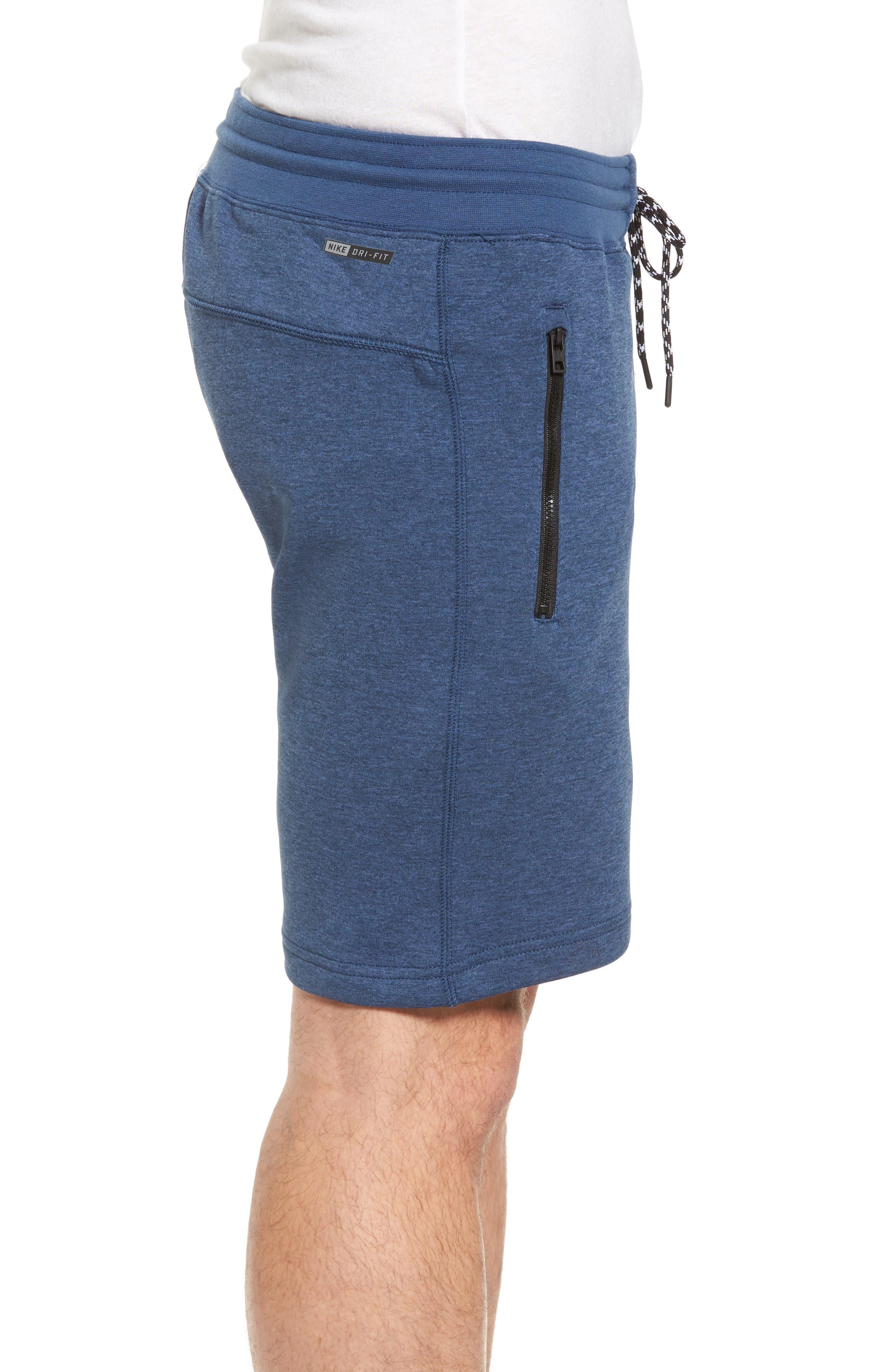 Dri-FIT Solar Shorts,                             Alternate thumbnail 3, color,                             Squadron Blue