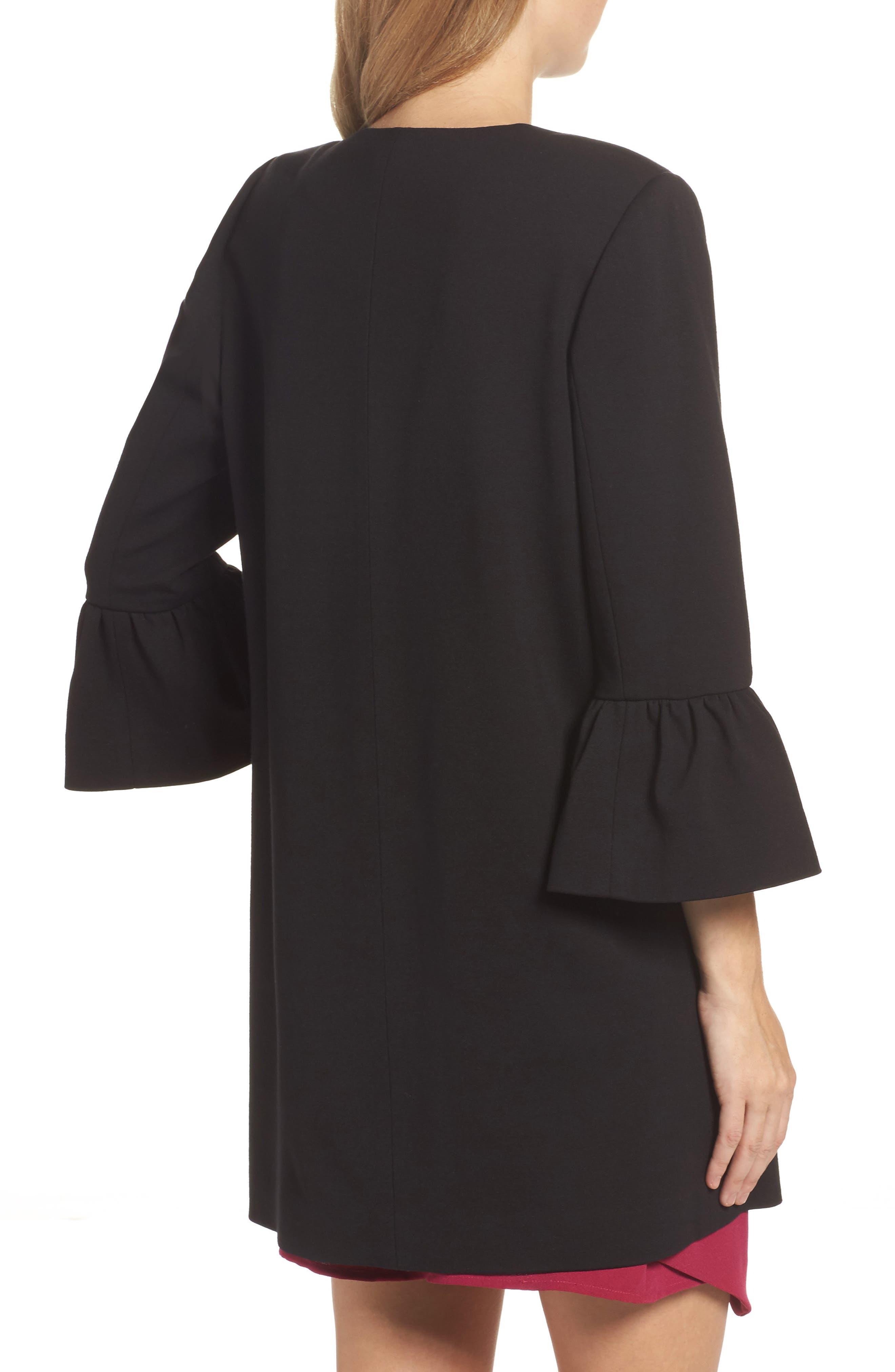 Alternate Image 2  - Eliza J Longline Bell Sleeve Jacket