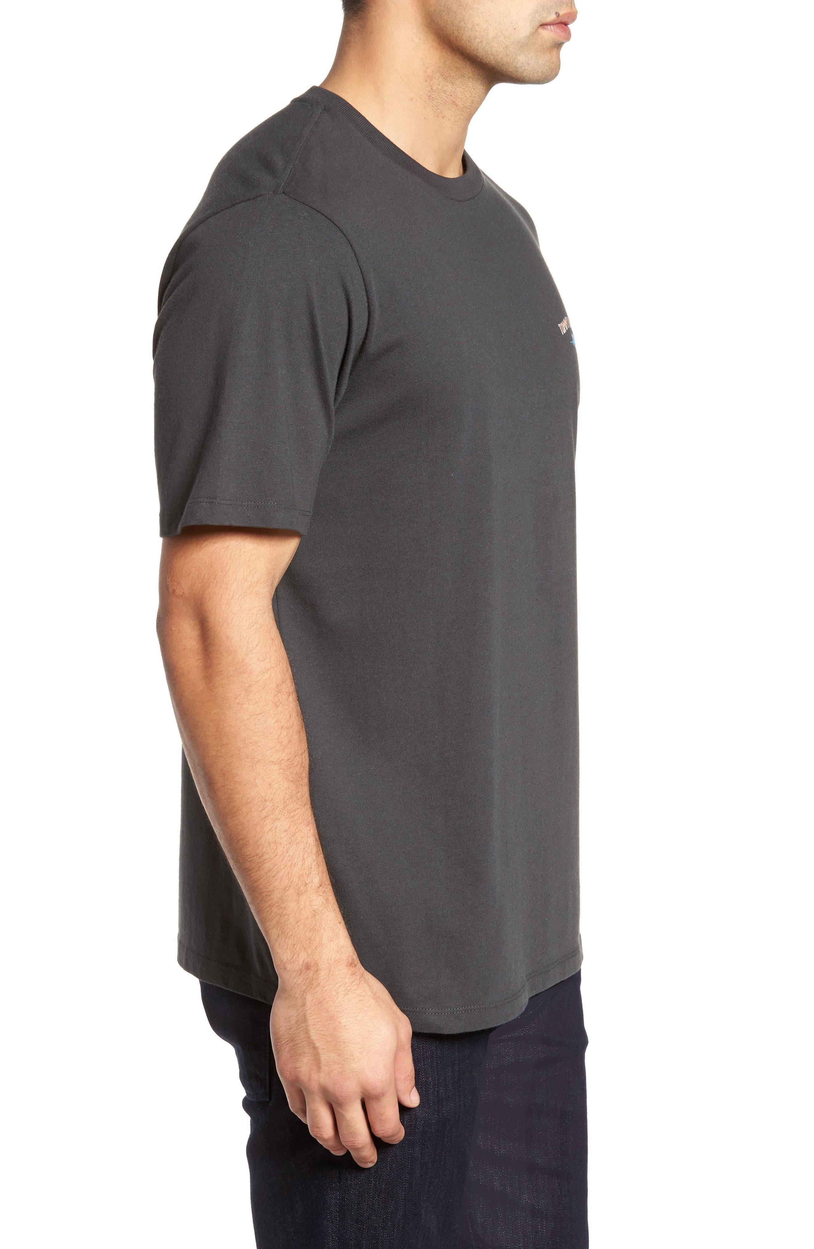 Cab Legs Graphic T-Shirt,                             Alternate thumbnail 3, color,                             Coal