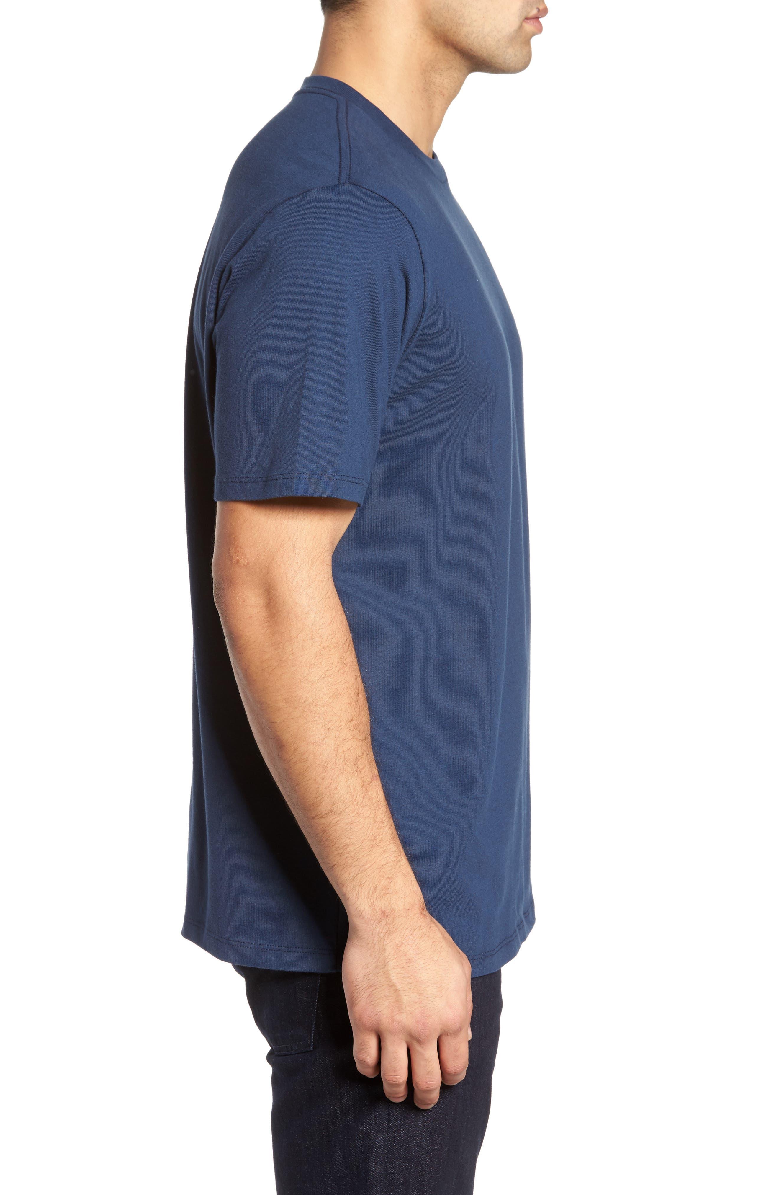 Parrot Sailing T-Shirt,                             Alternate thumbnail 3, color,                             Navy